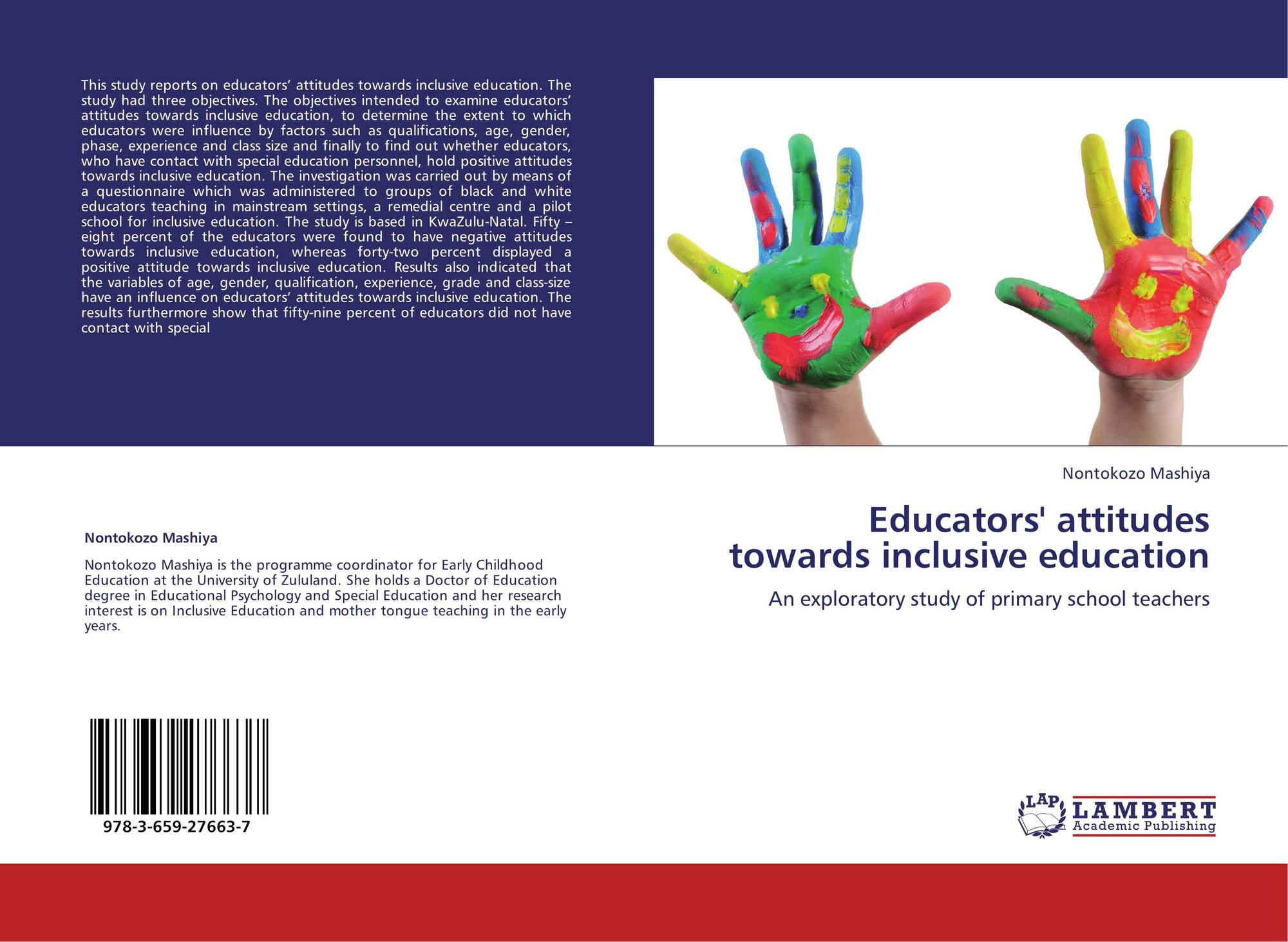 elementary school teachers' attitude towards inclusive