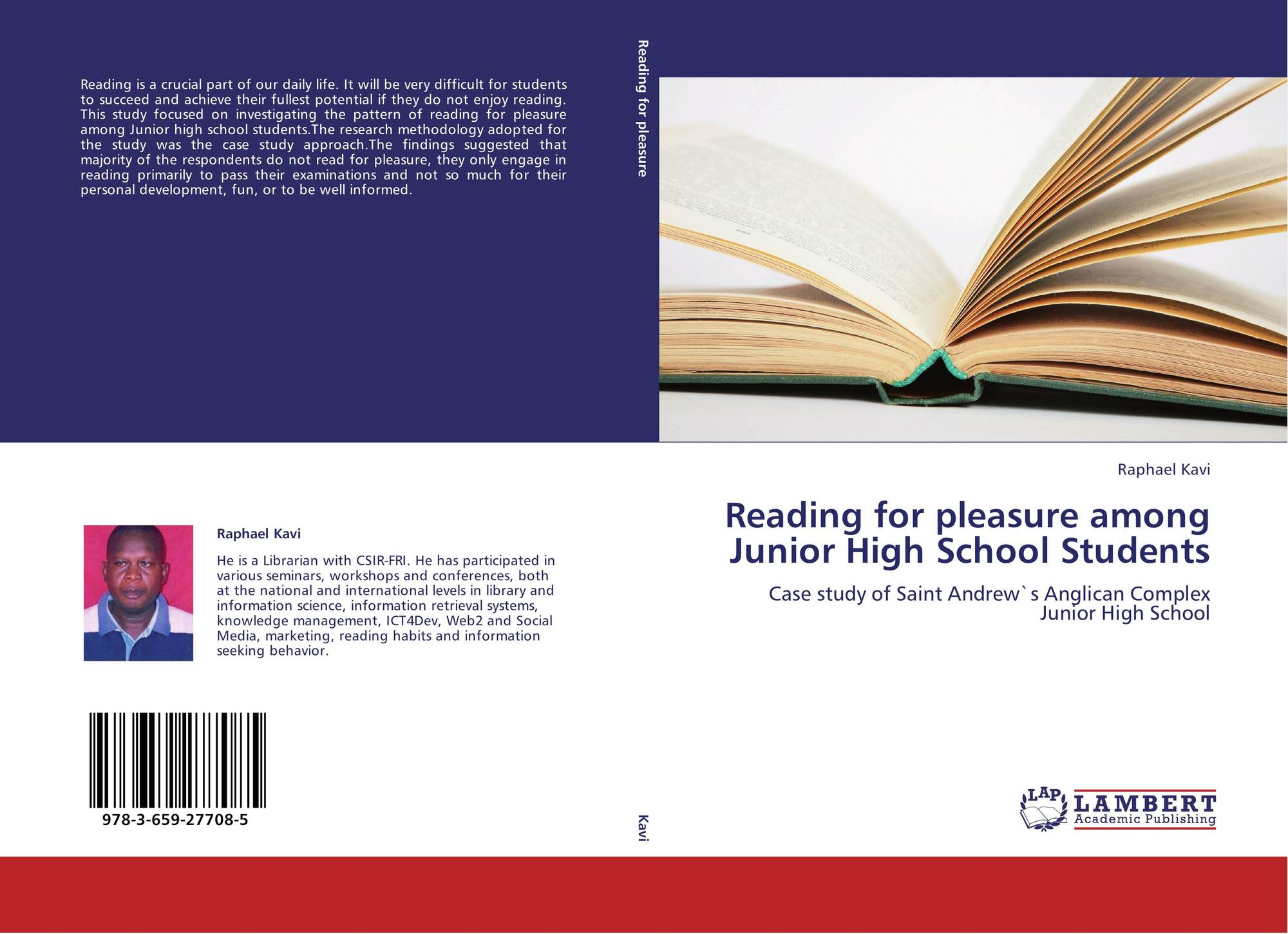 Reading for pleasure among Junior High School Students, 978