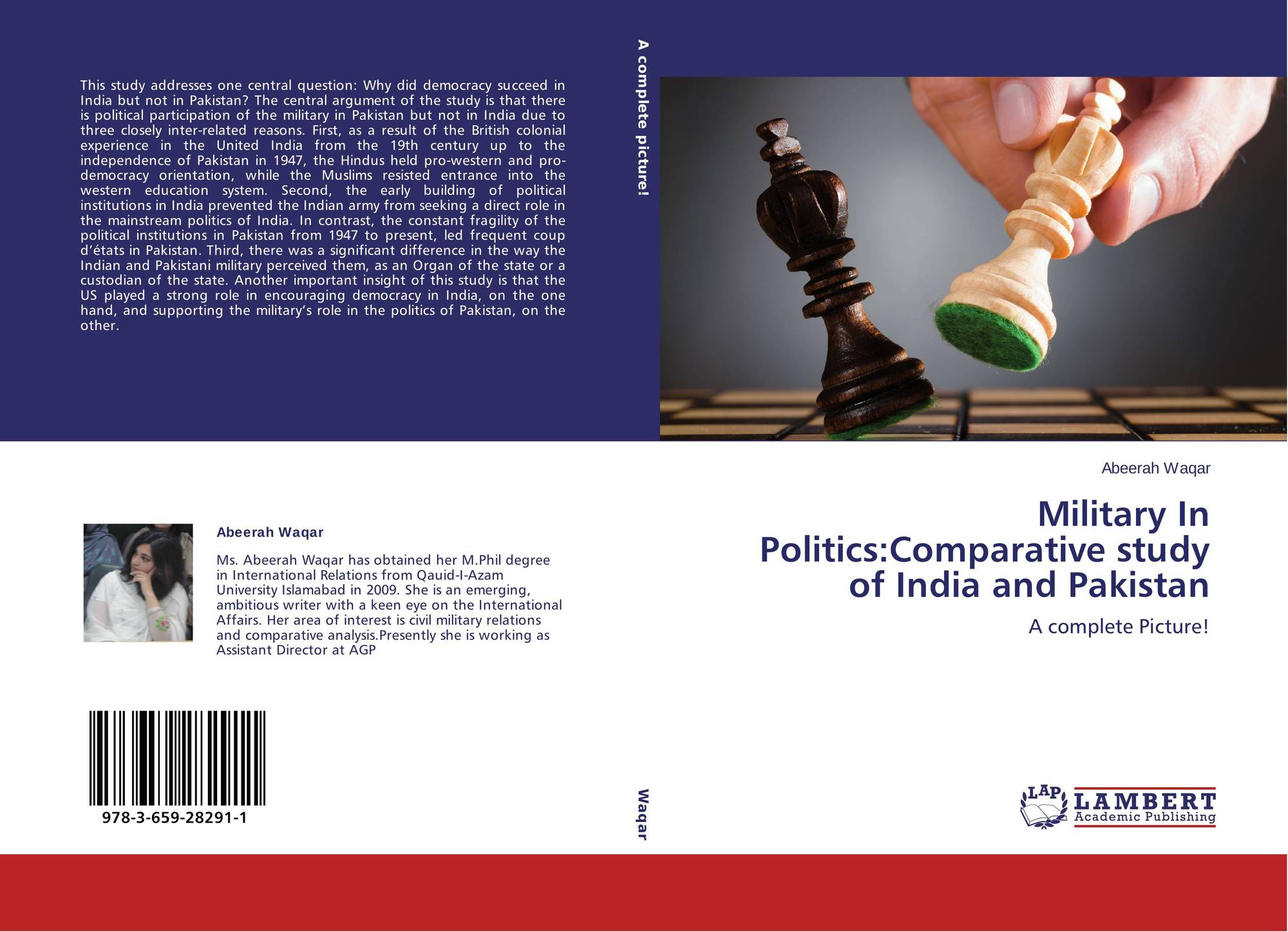 Military In Politics:Comparative study of India and Pakistan, 978-3