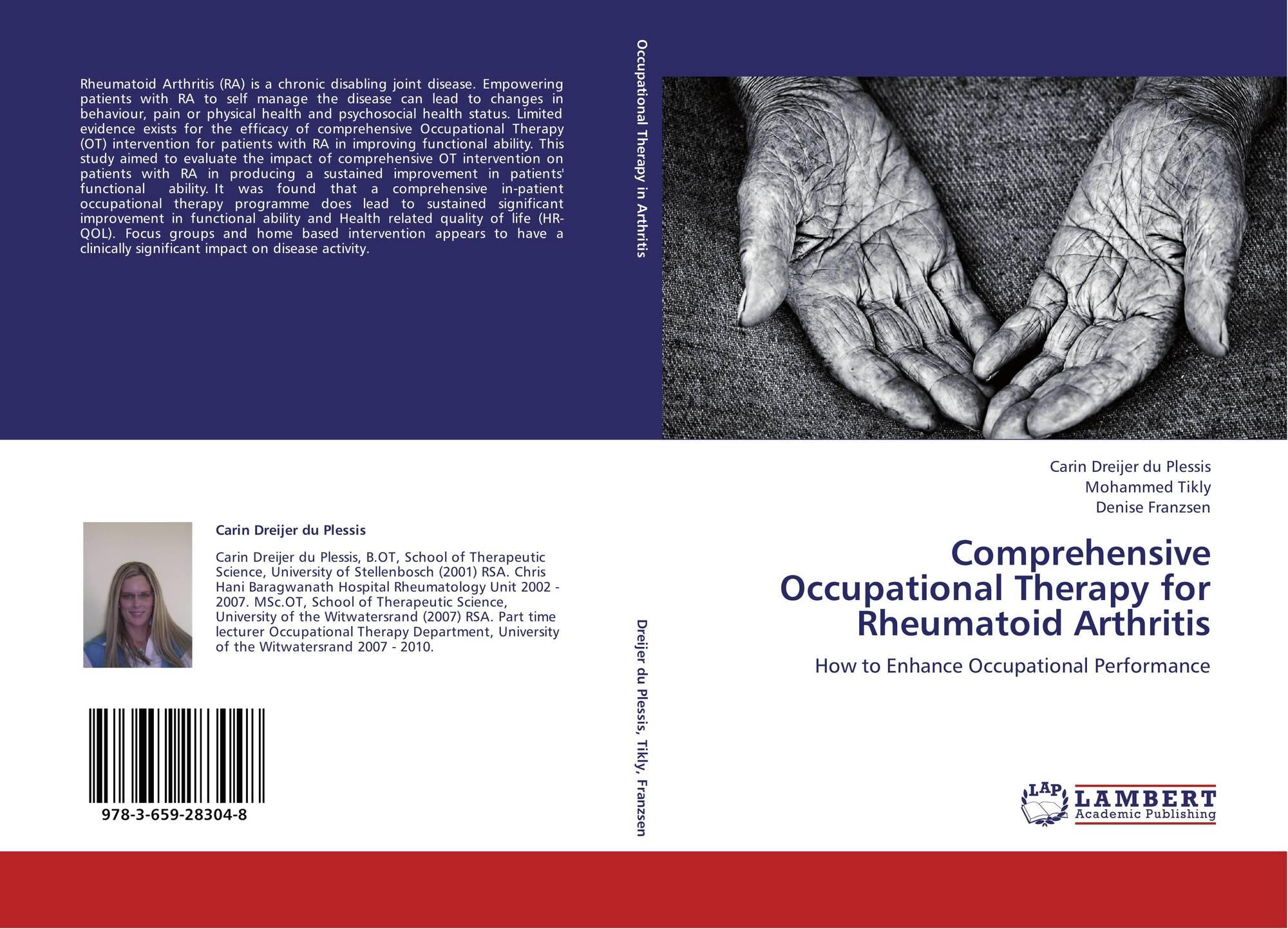 rheumatoid arthritis case study occupational therapy