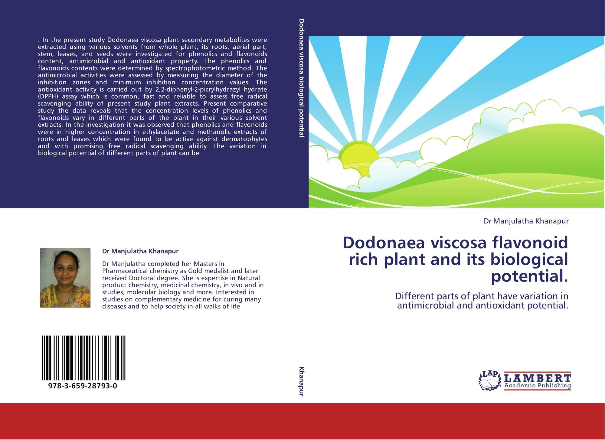 Antioxidant activity of plant extracts thesis