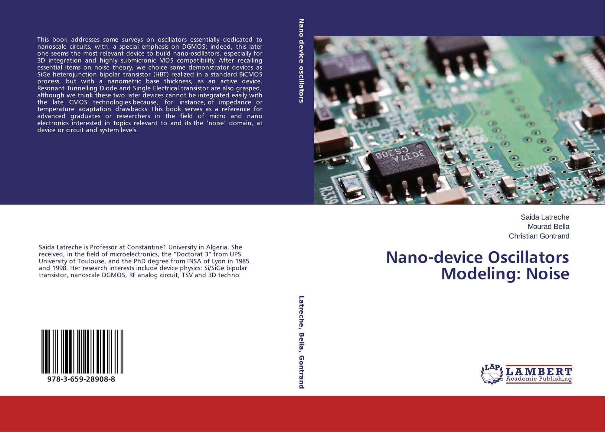 Nano Device Oscillators Modeling Noise 978 3 659 28908 8 Transistor 9783659289088