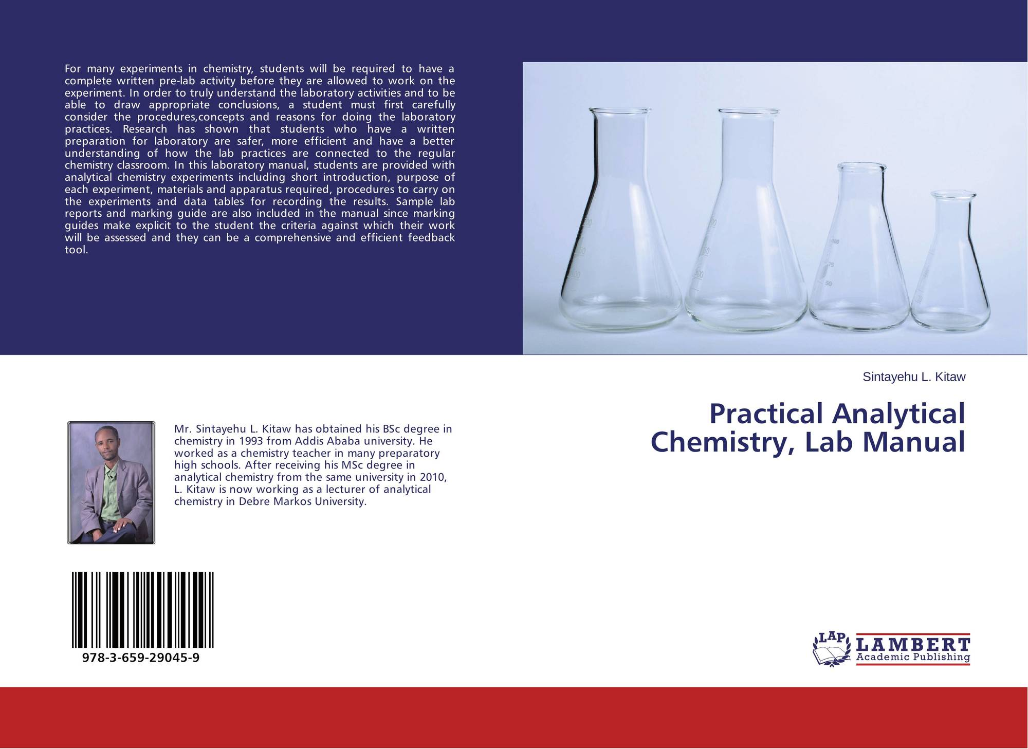 Bookcover of Practical Analytical Chemistry, Lab Manual