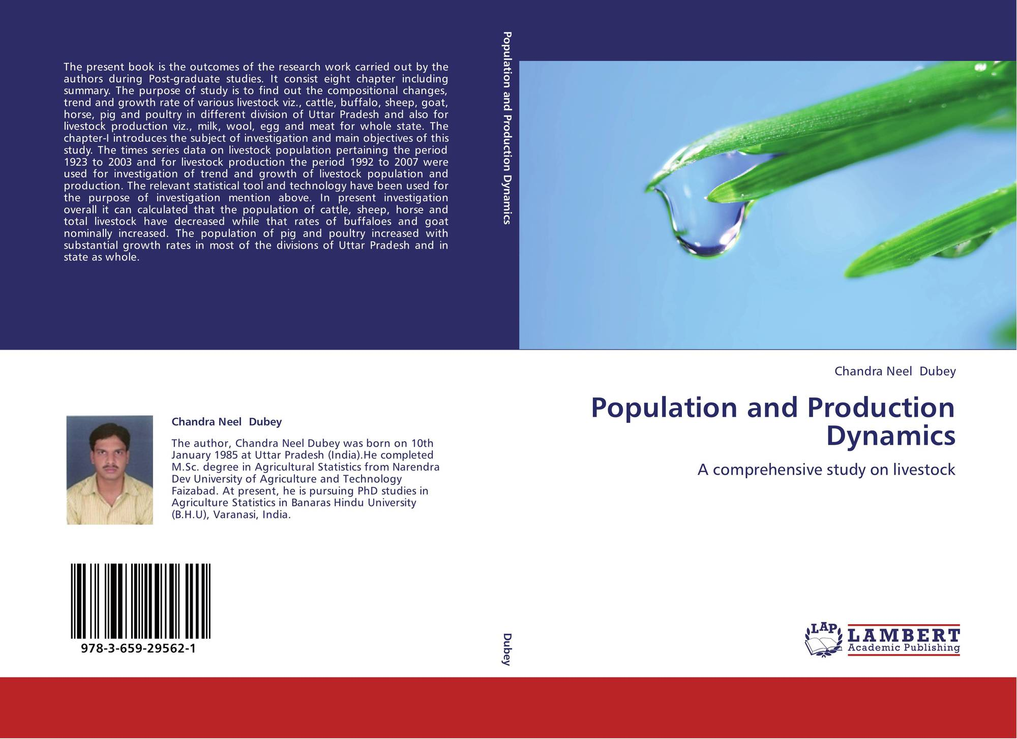 Population and Production Dynamics, 978-3-659-29562-1