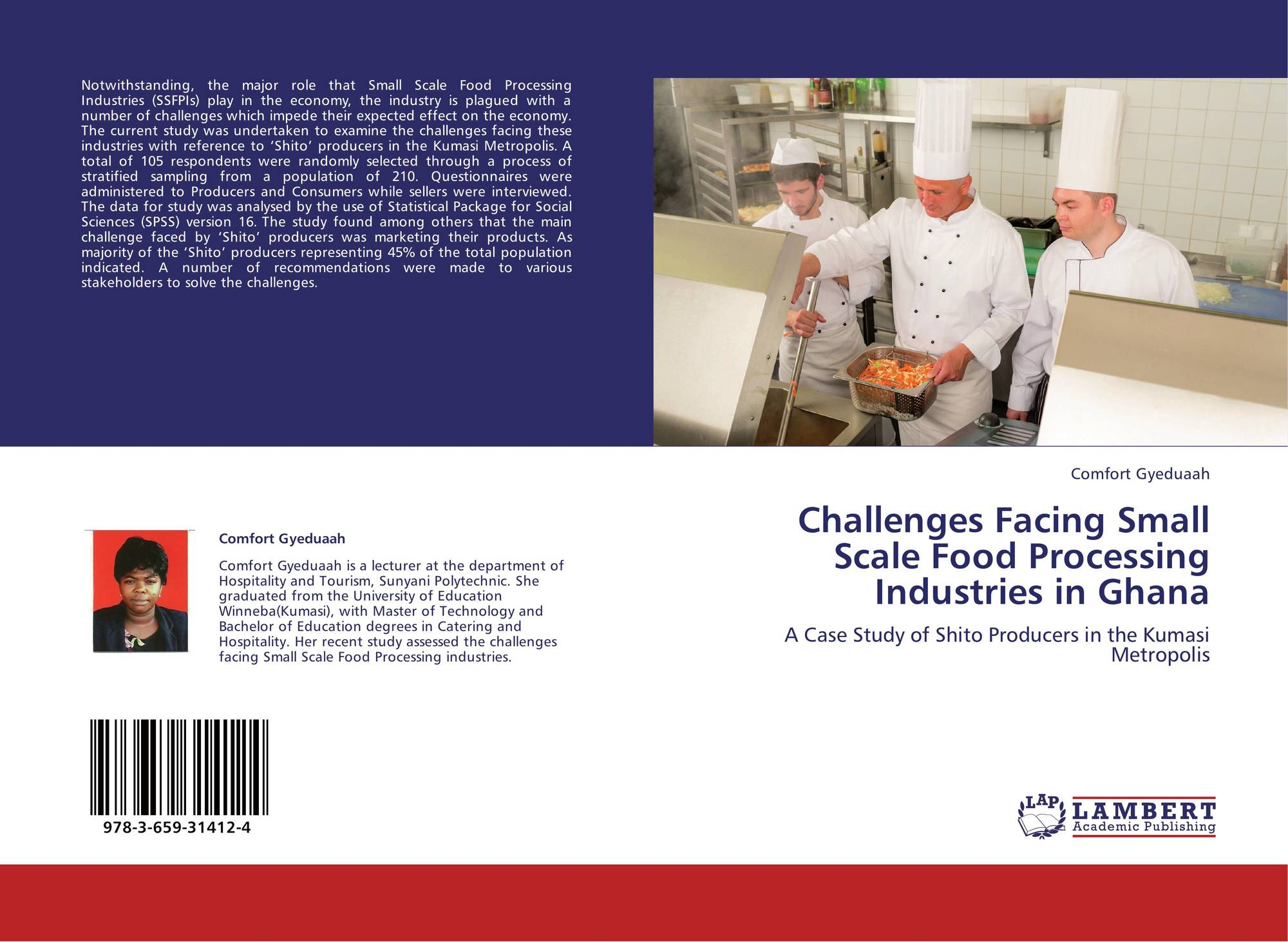 Challenges Facing Small Scale Food Processing Industries in