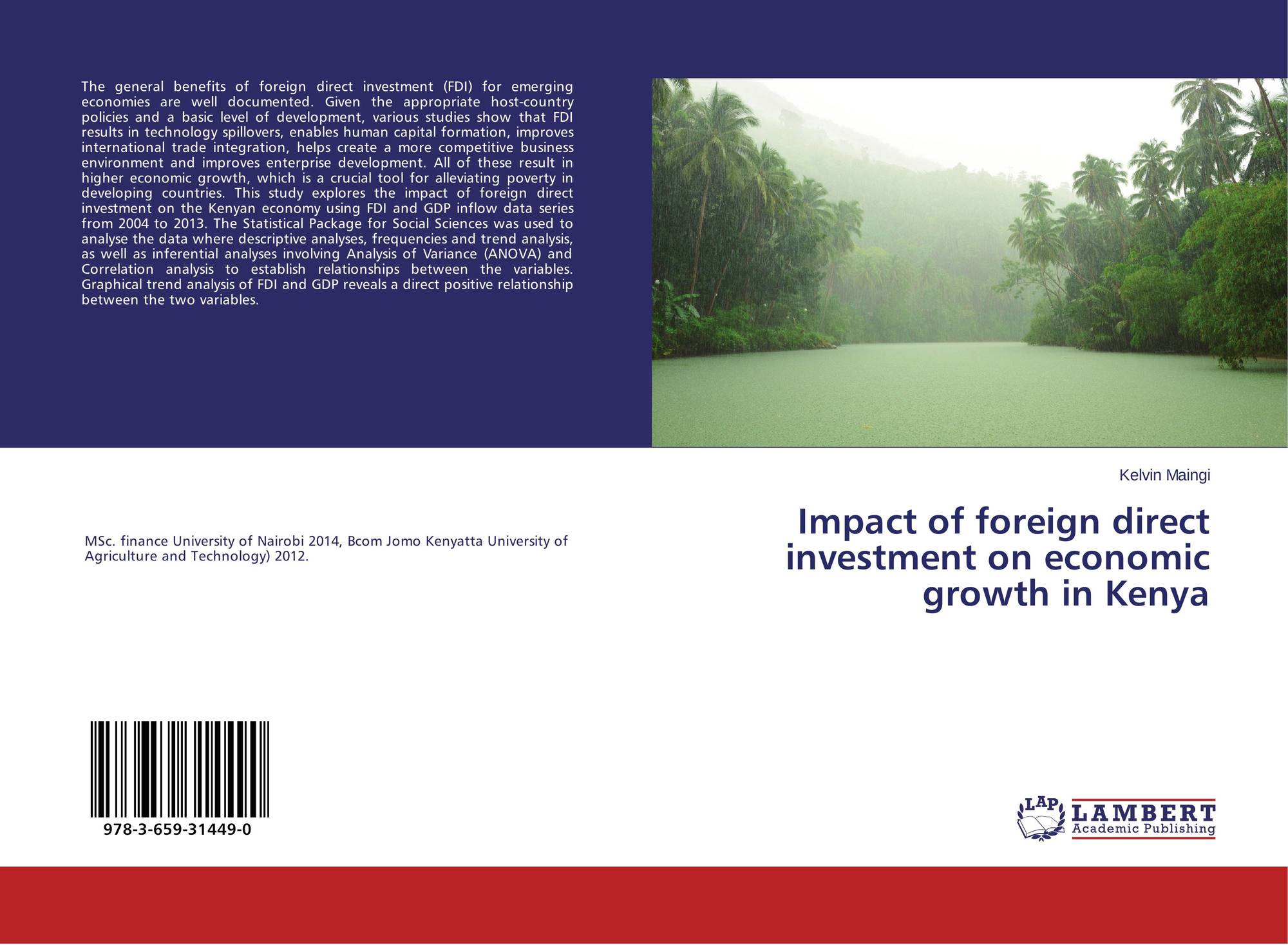 the impact of foreign direct investment Leaving the european union would reduce flows of foreign direct investment (fdi) into the uk by more than a fifth, damaging productivity and lowering people's.