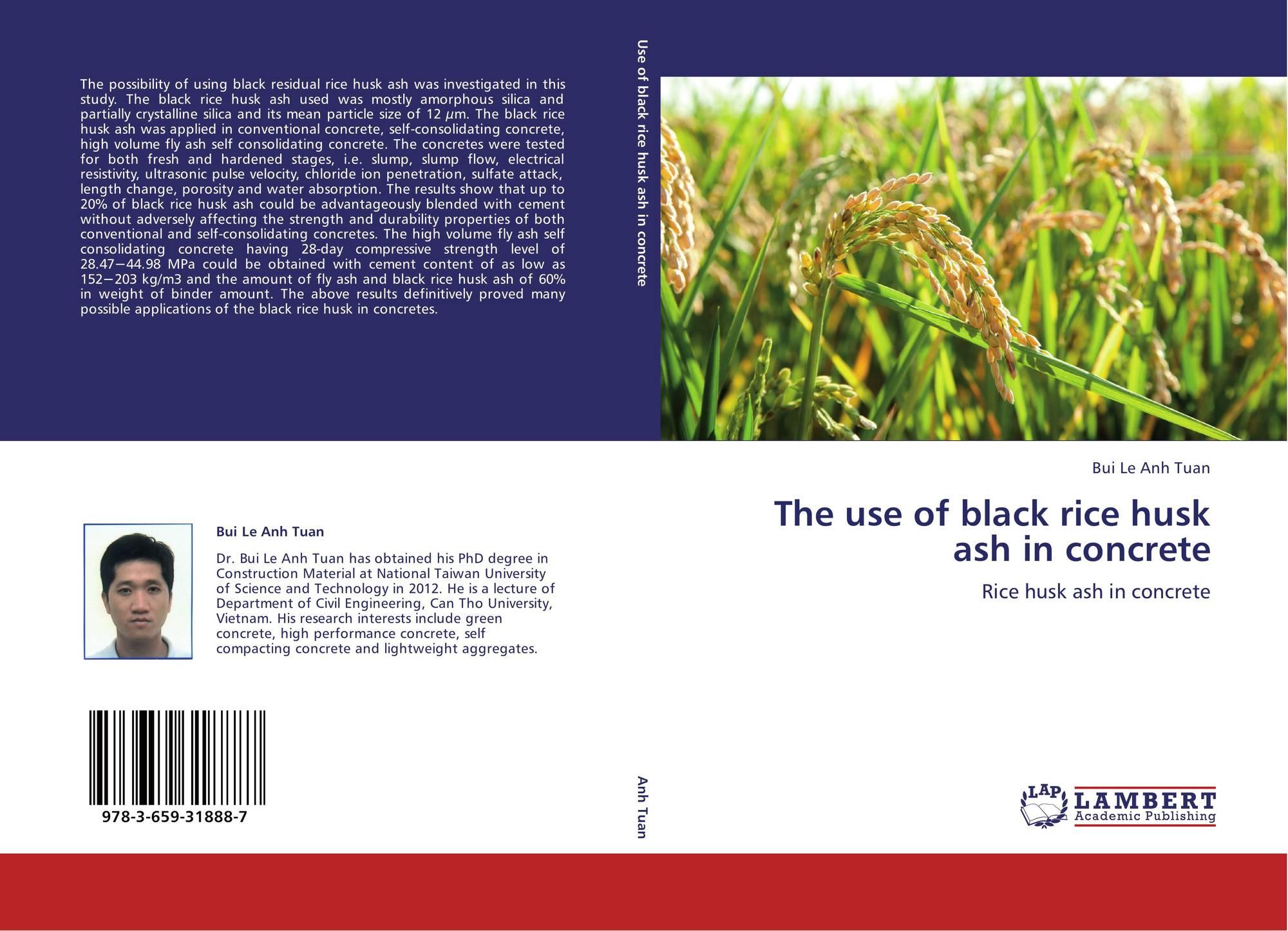 rice husk ash concrete thesis