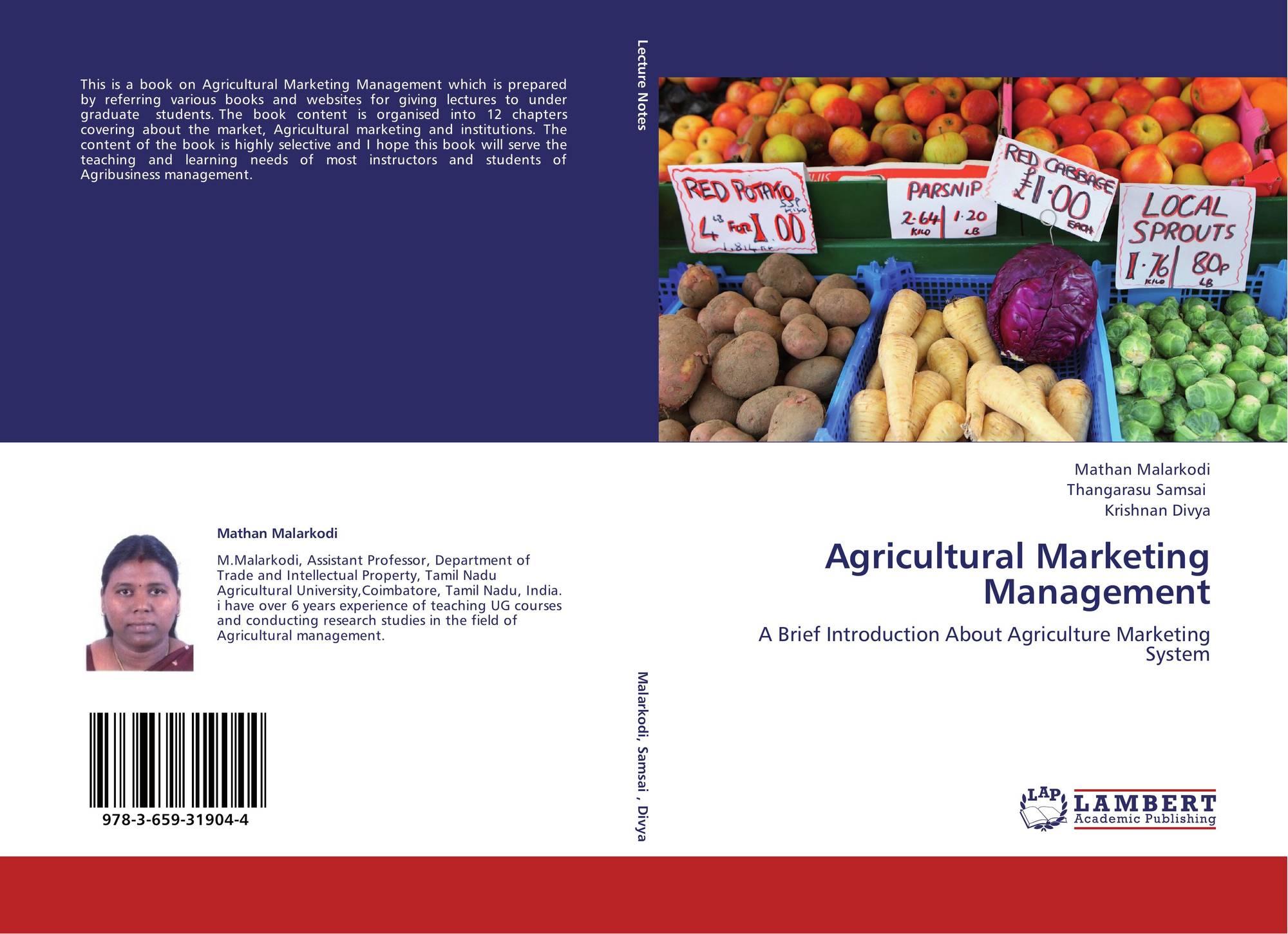 Agricultural Marketing - Marketing Management (Kenya)