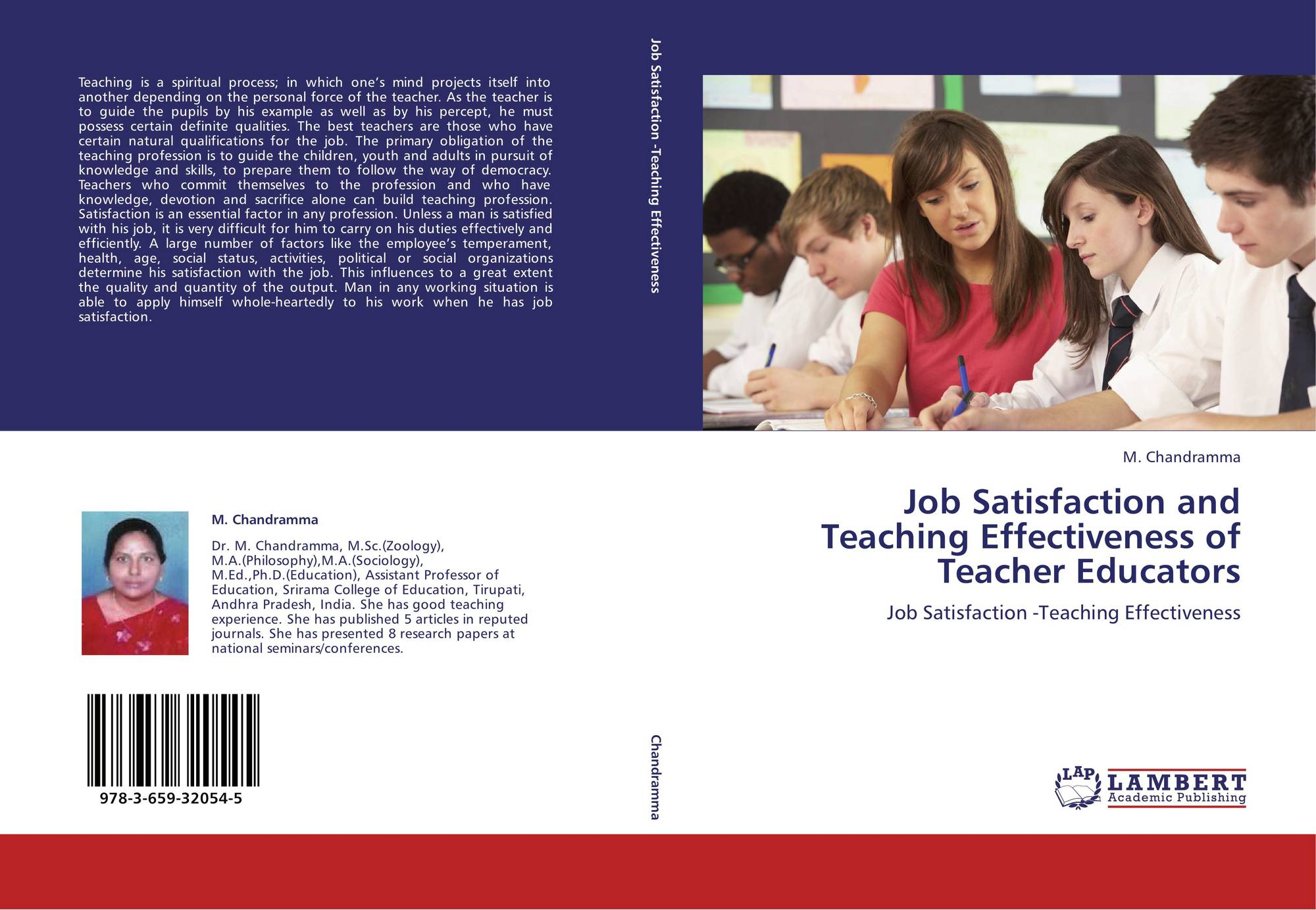 job satisfaction for teacher in malaysia Andre bishay levels of job satisfaction and motivation were measured by survey in a sample of 50 teachers a sample of 12 teachers was then studied using the experience sam.