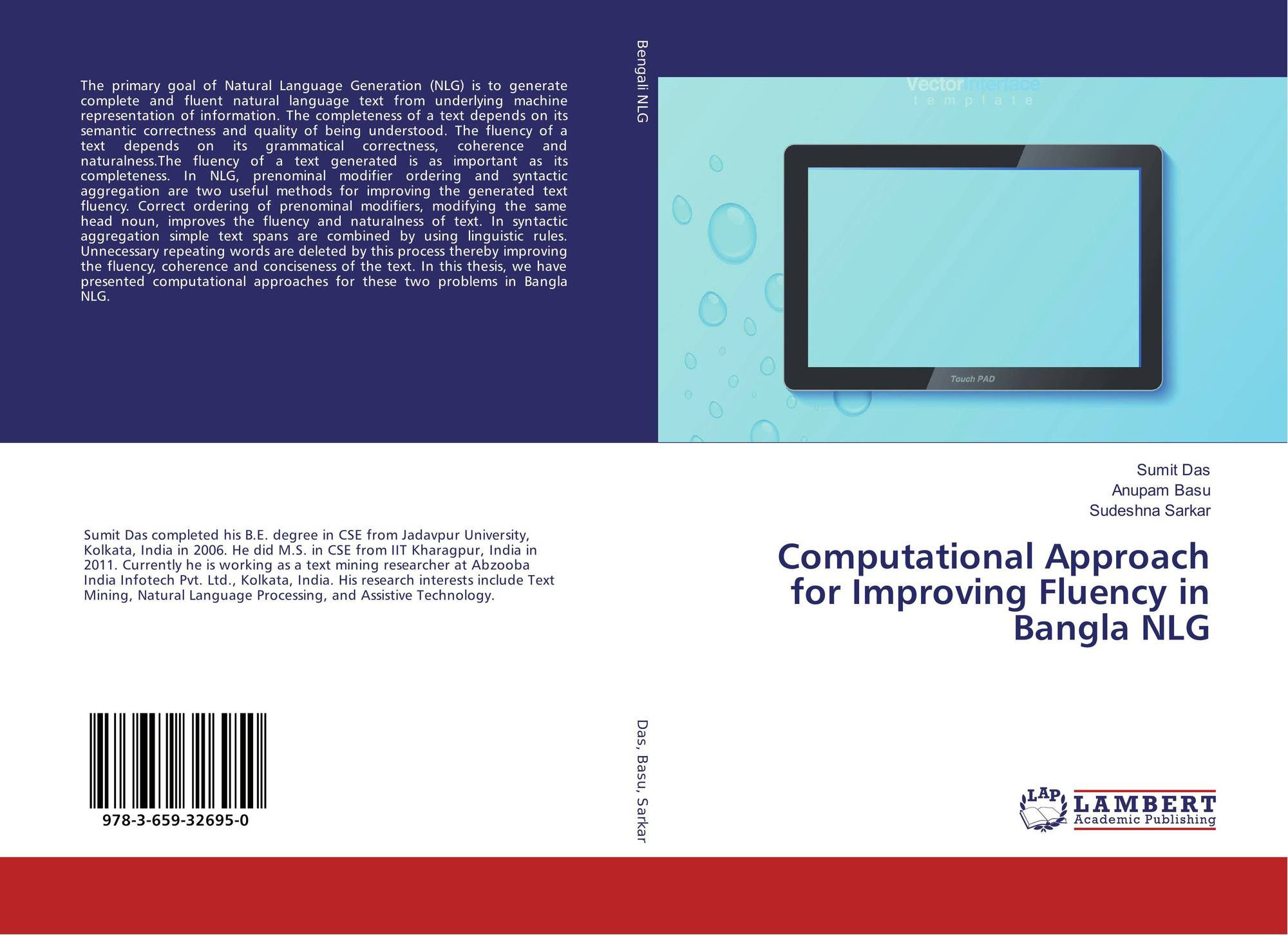 Computational Approach for Improving Fluency in Bangla NLG, 978-3