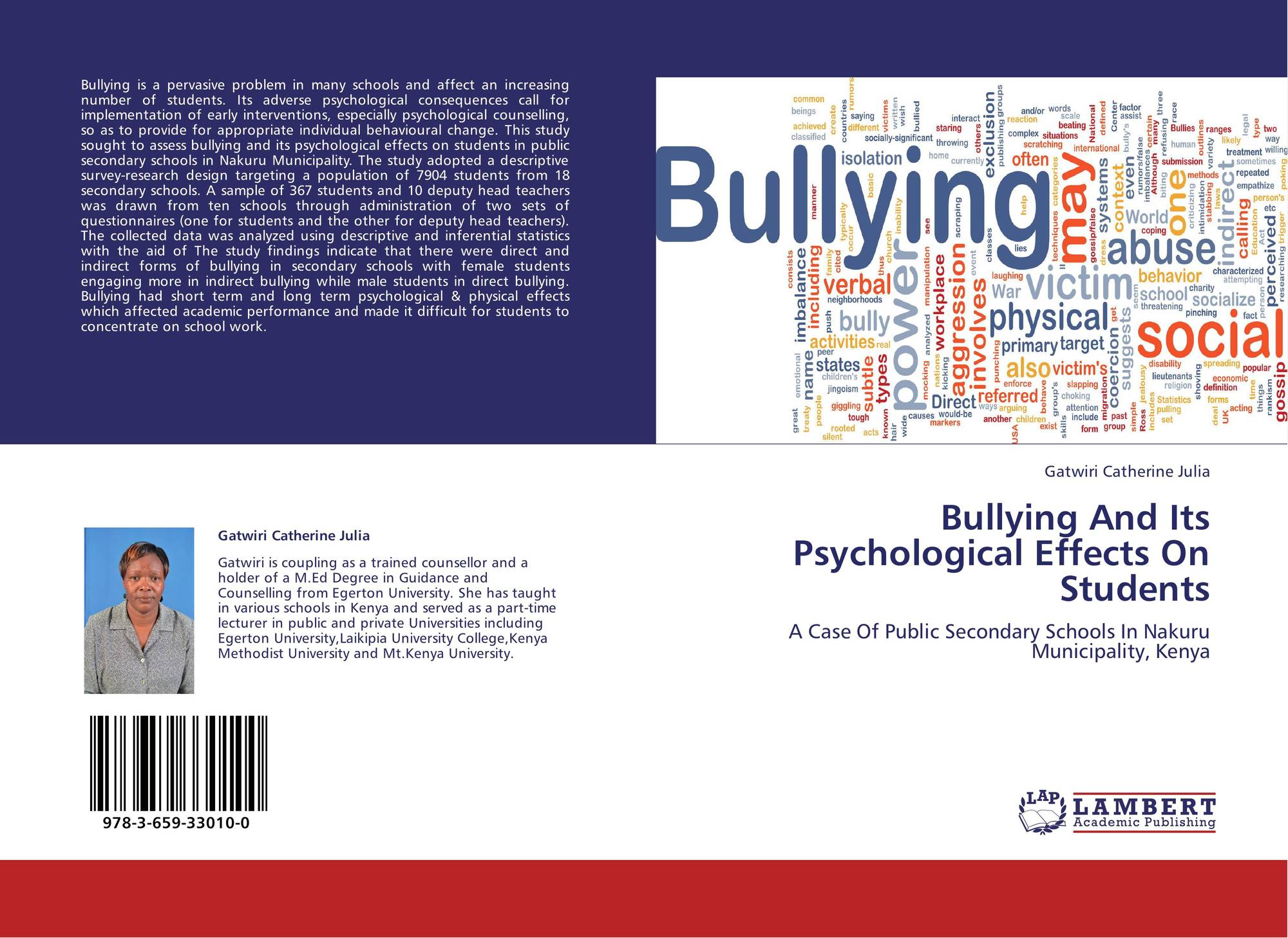bullying and its effect on our What are the effects of workplace bullying bullying victimizes people and profits by sherri gordon updated february 12, 2018  visit our other verywell sites:.