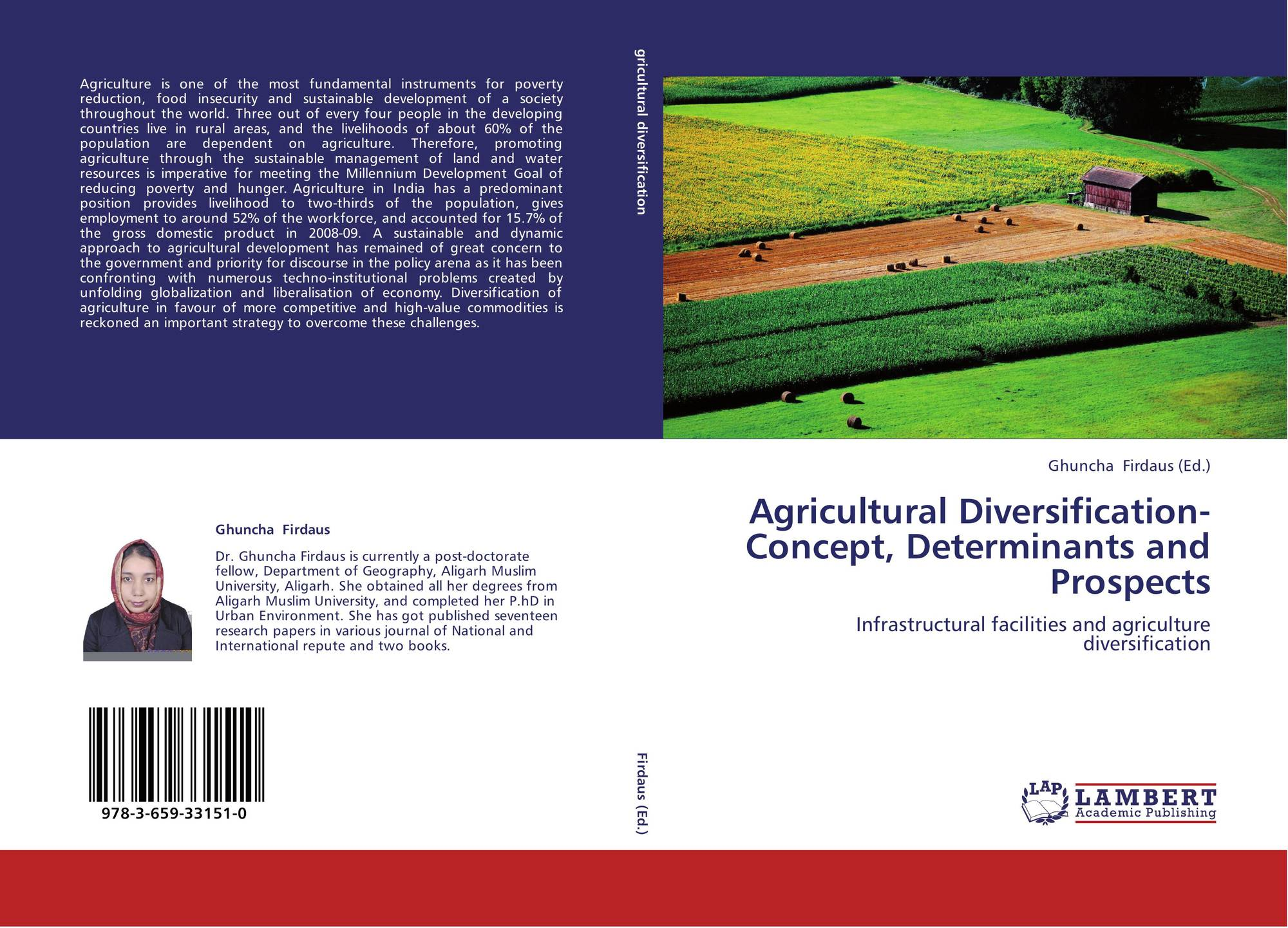 """a study of prospects of agricultural Agriculture is different from industry and plays a significant role in the economic development of a nation india""""s prosperity depends upon the agricultural prosperity."""