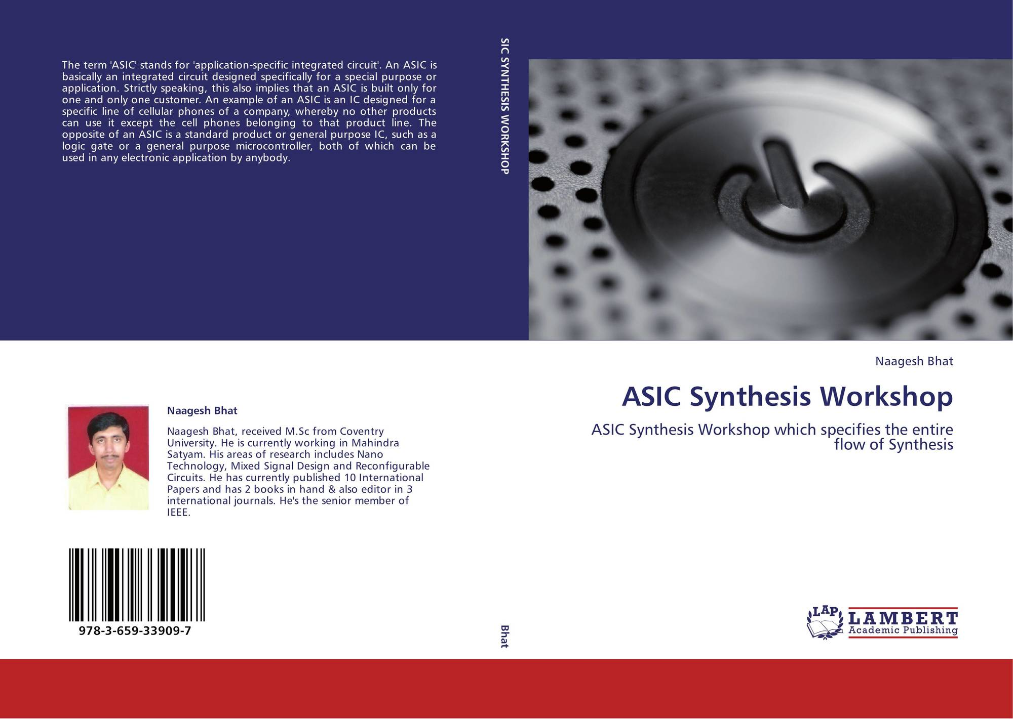 Search Results For Asic Vlsi Design Flow Bookcover Of Synthesis Workshop