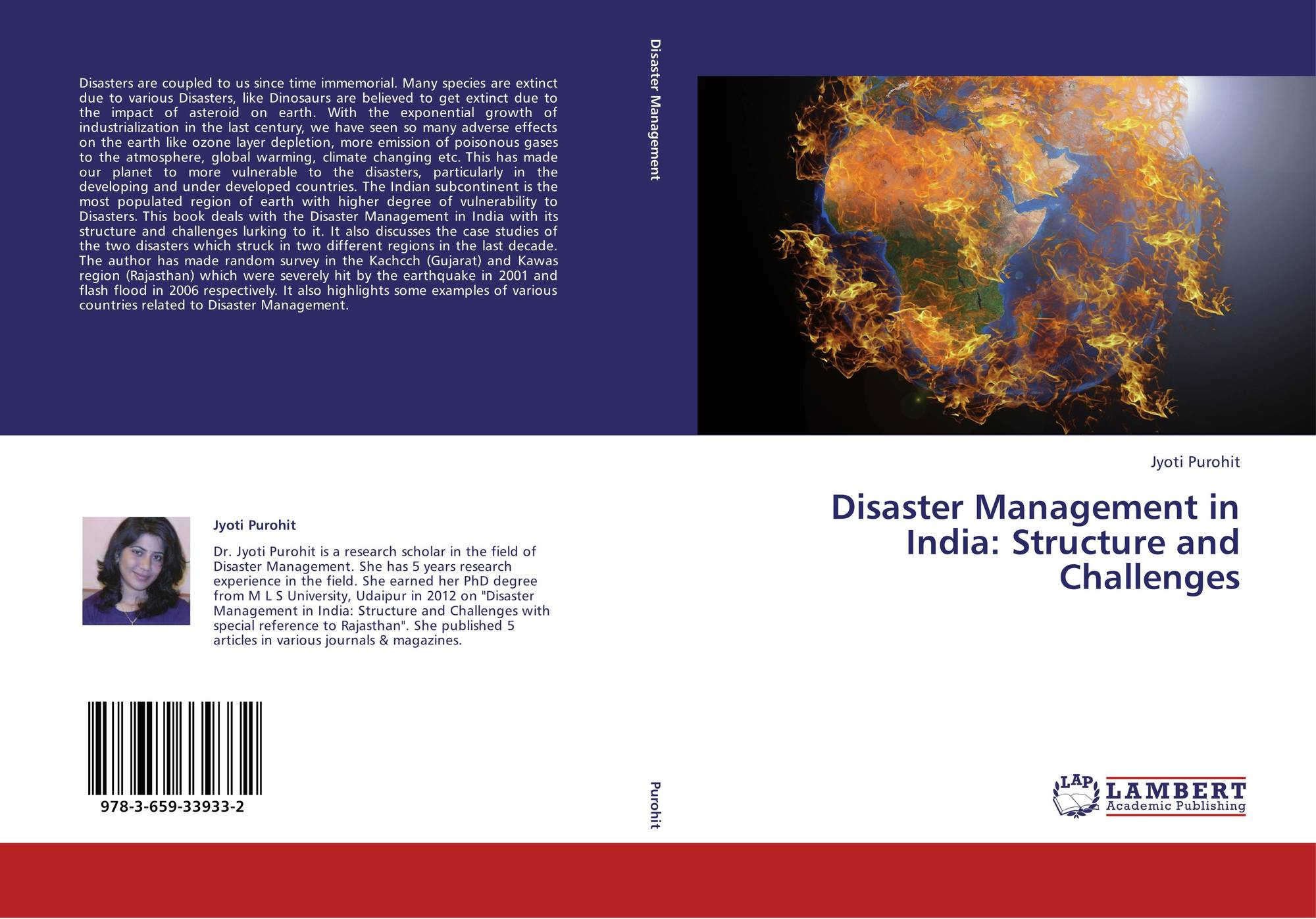 research papers on disaster management in india