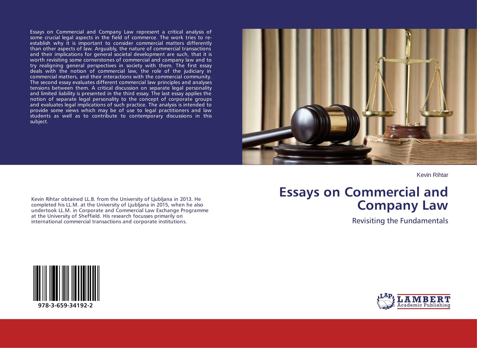 company law essays Question: company law reform act 'it is the case that the uk still has not had a thorough review of the relationship between limited liability and unlimited liability legal forms for small firms and that the llp's role for small firms has not been properly addressed.