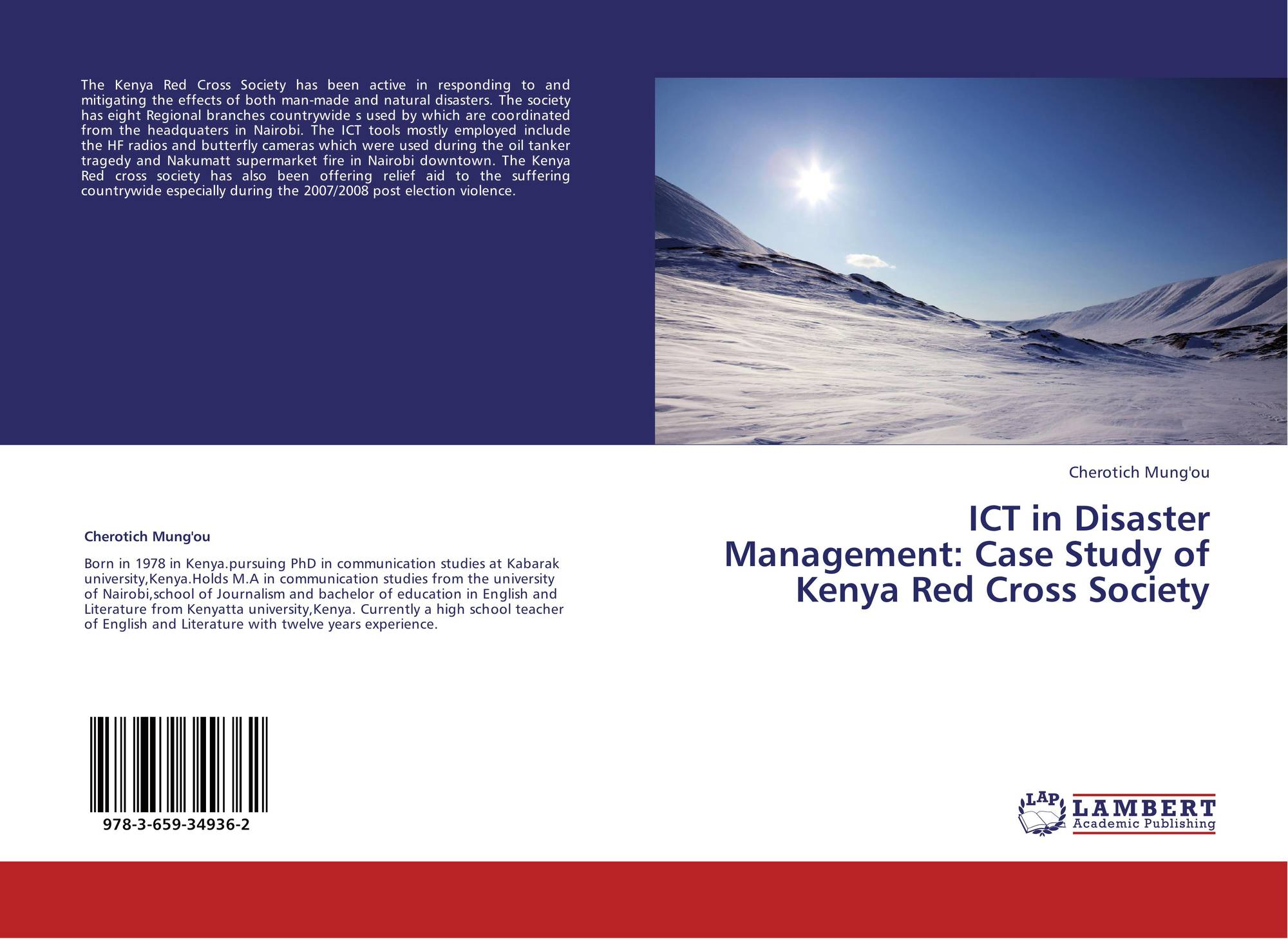 ICT in Disaster Management: Case Study of Kenya Red Cross