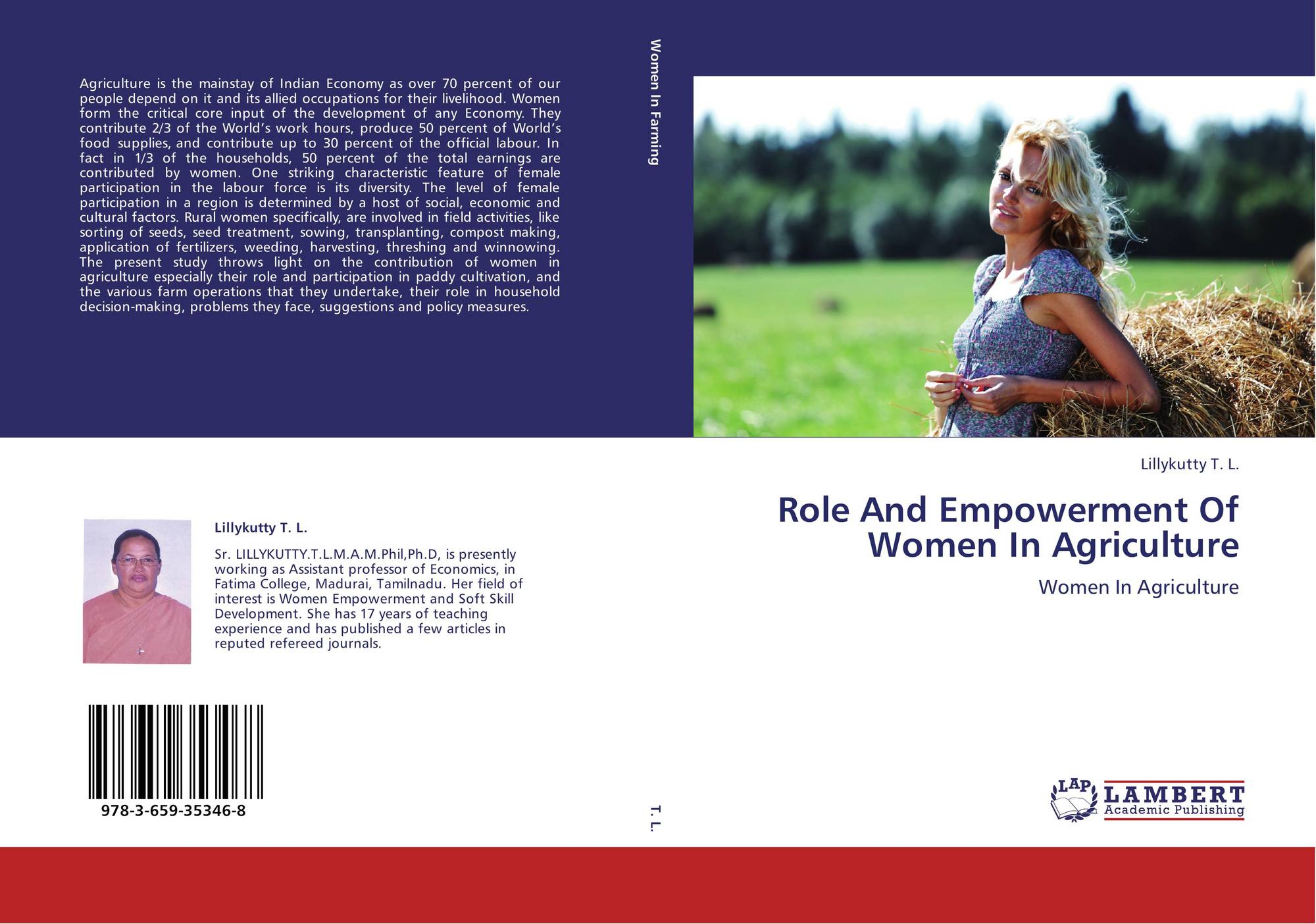 the role of women in agriculture This is in recognition that women play very significant roles in nigeria agricultural  production, processing and utilization (nnadozie and ibe.