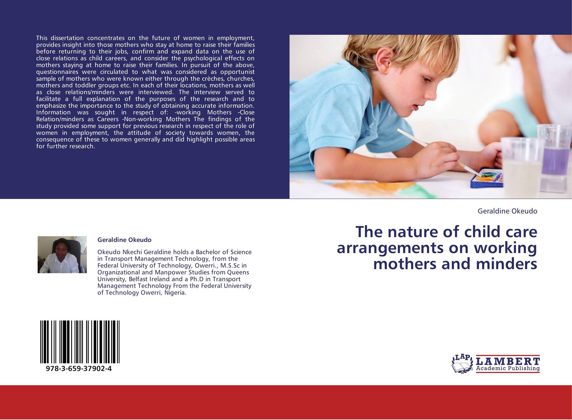 a description of the issue of childcare and working mothers Health issues health issues health a role model for her child in most families with working mothers may feel about working having quality child care and a.