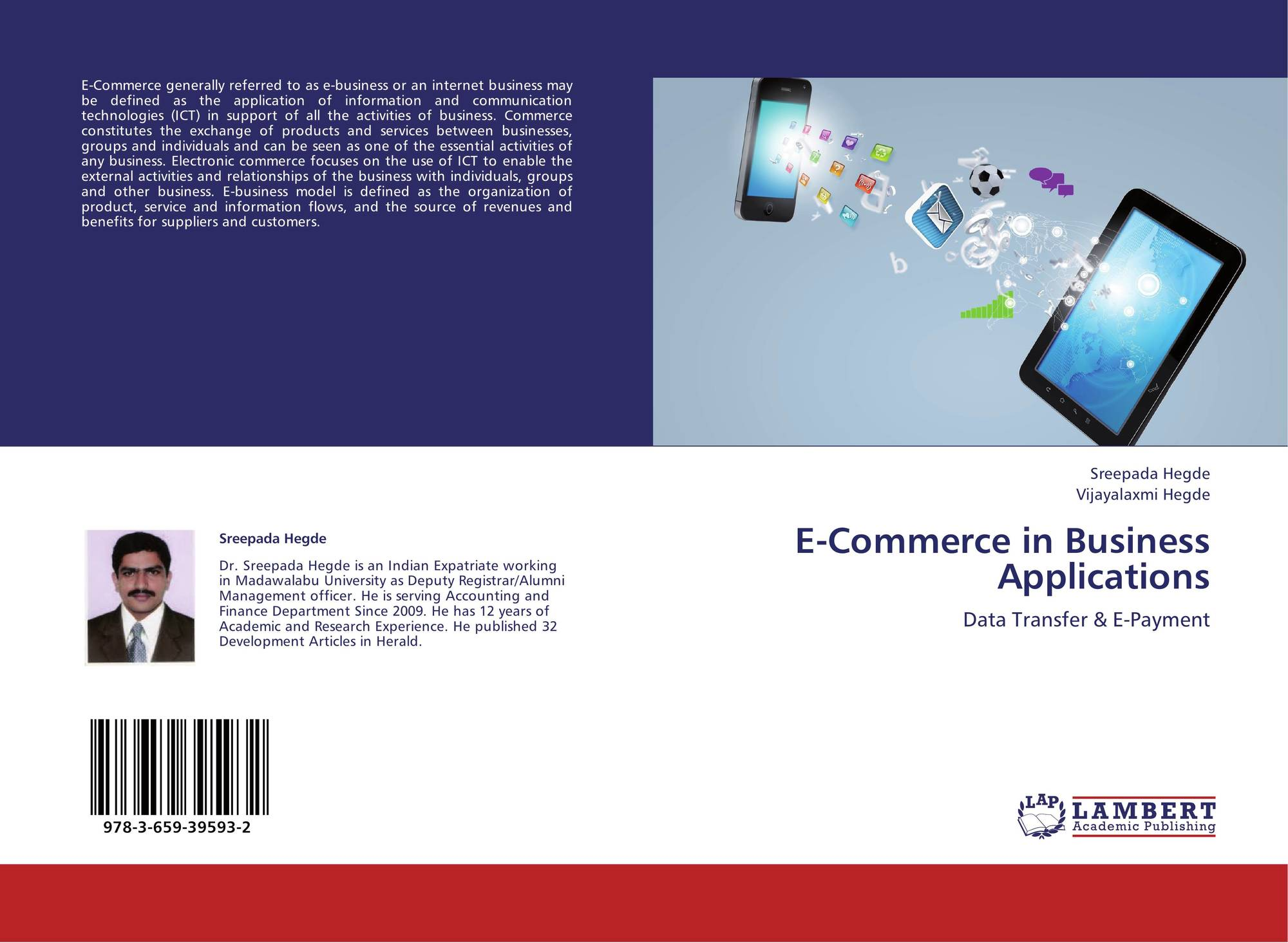E-Commerce In Business Applications, 978-3-659-39593-2, 3659395935 ,9783659395932 By Sreepada