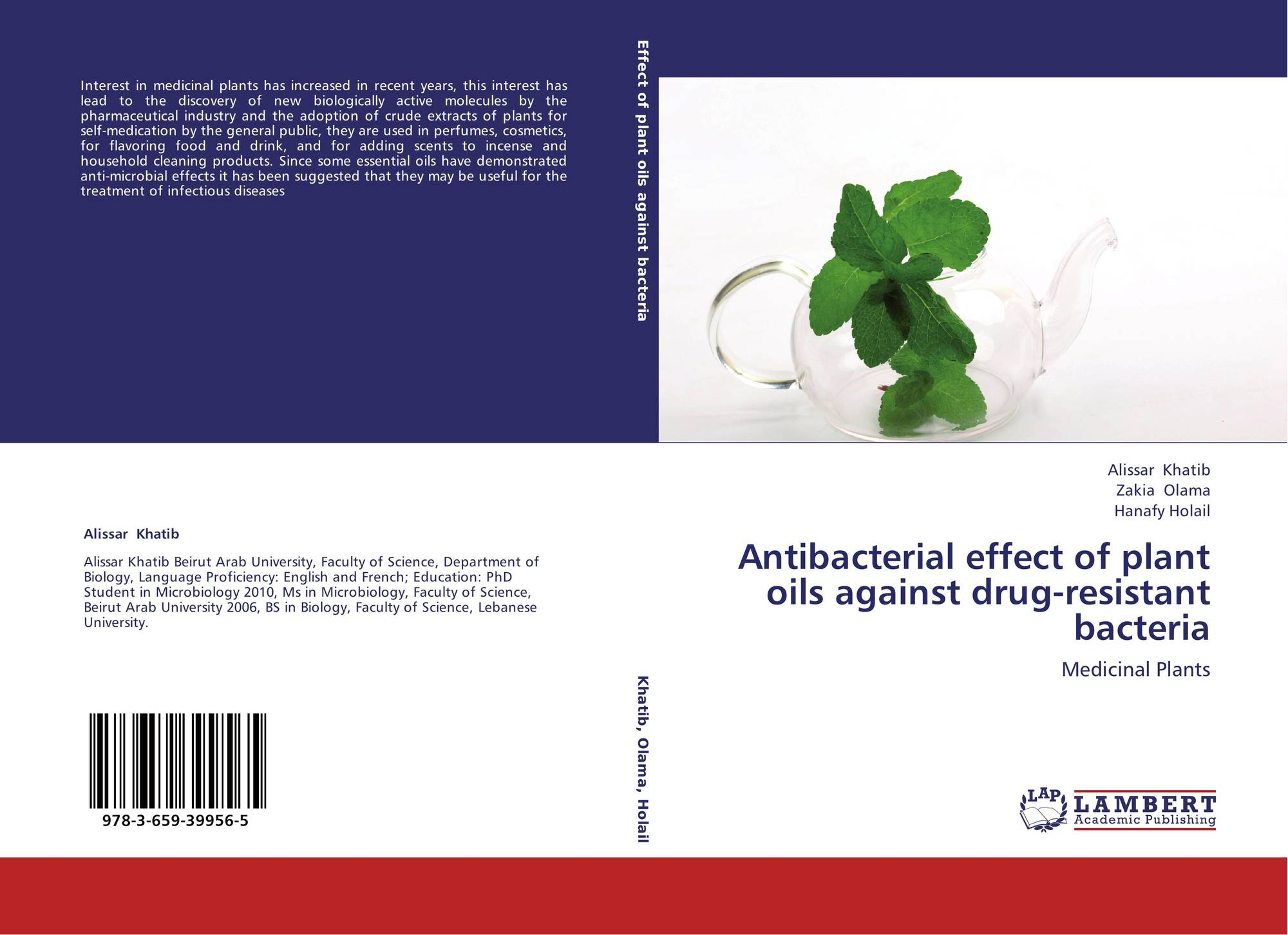 thesis - antibacterial activity of medicinal plants
