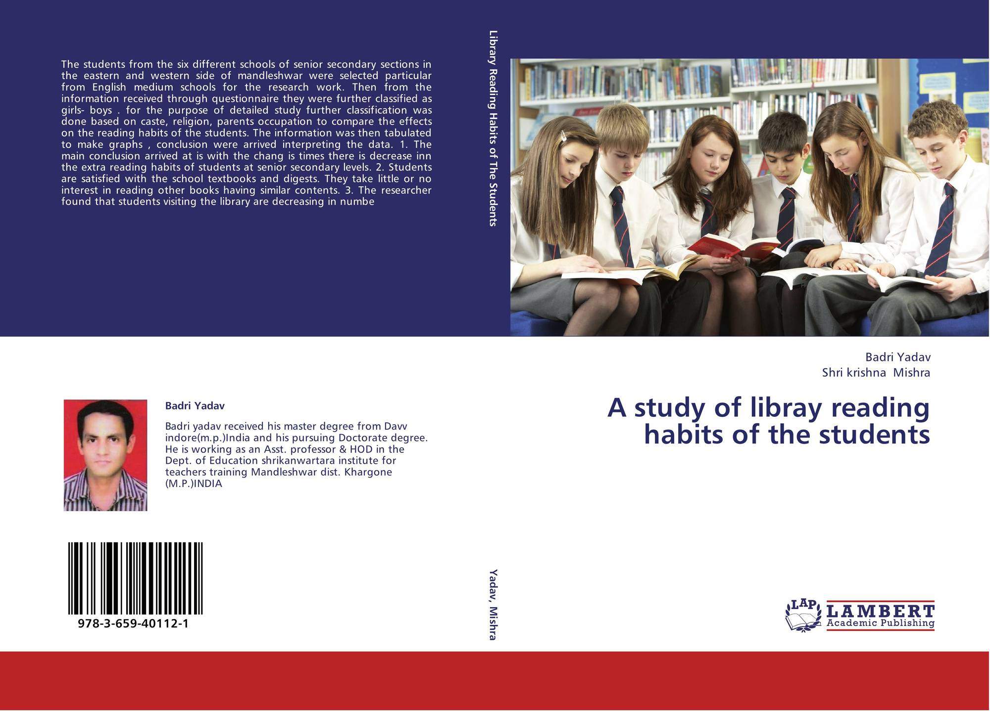a research to determine reading habits of students in kaplan school Institutions often determine whether students are deserving of of reading and doing research on habits of mind and writing high school.