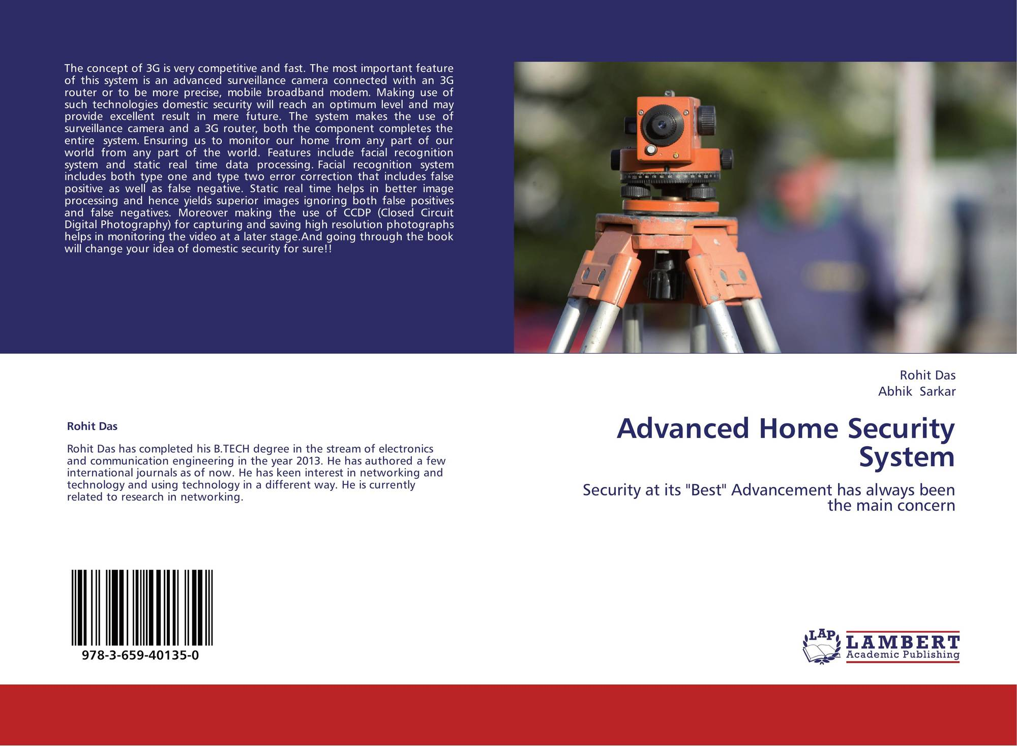 Advanced home security system 978 3 659 40135 0 for Advanced home