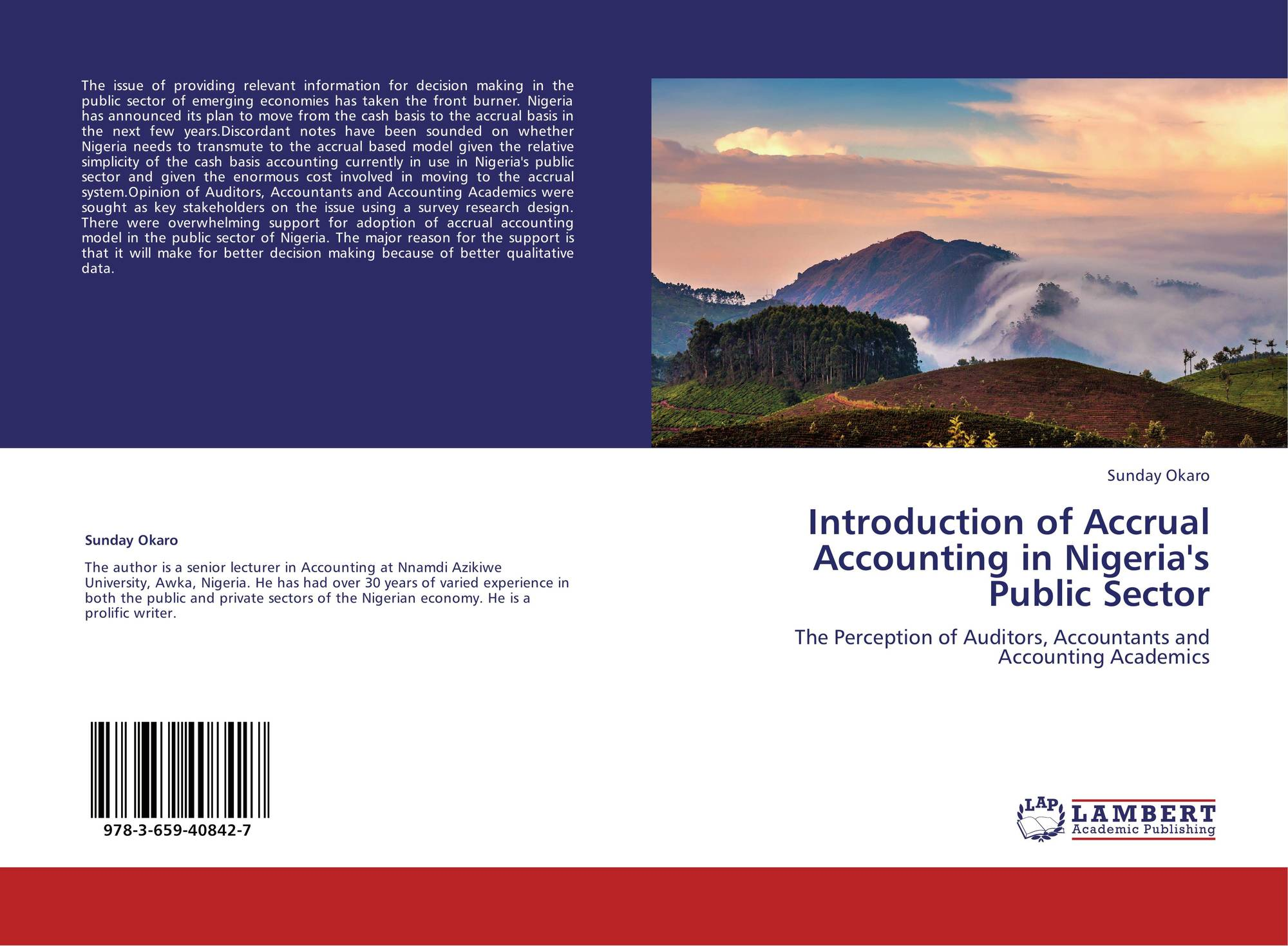 accounting ethics in nigeria The discussion of accounting ethics has declined in recent years as the enron and worldcom debacles have receded from memory furthermore, the perceived.