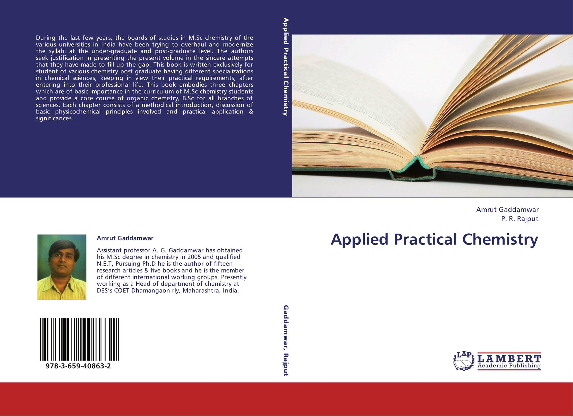 Applied Practical Chemistry, 978-3-659-40863-2, 3659408638