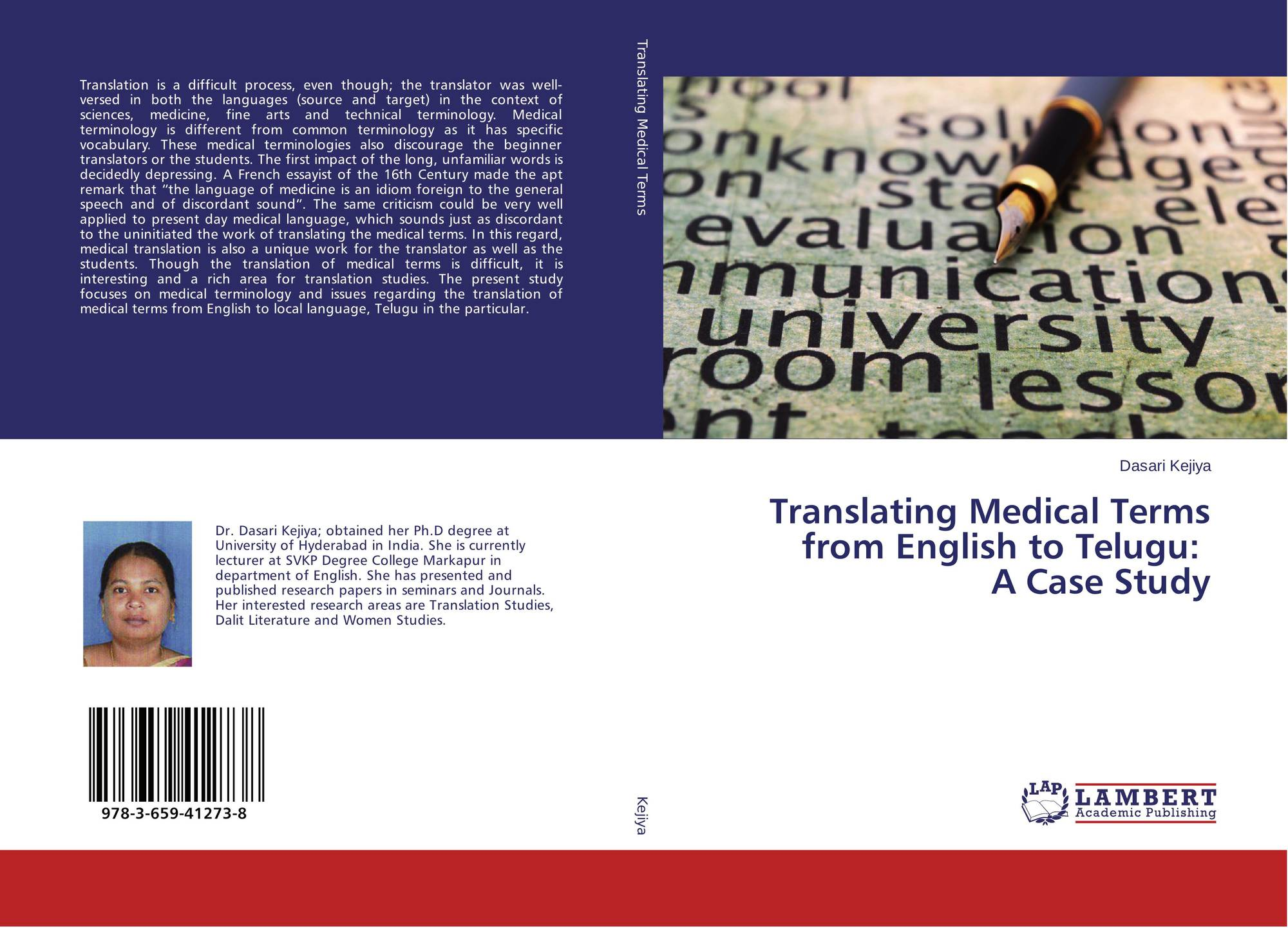 Translating Medical Terms from English to Telugu: A Case