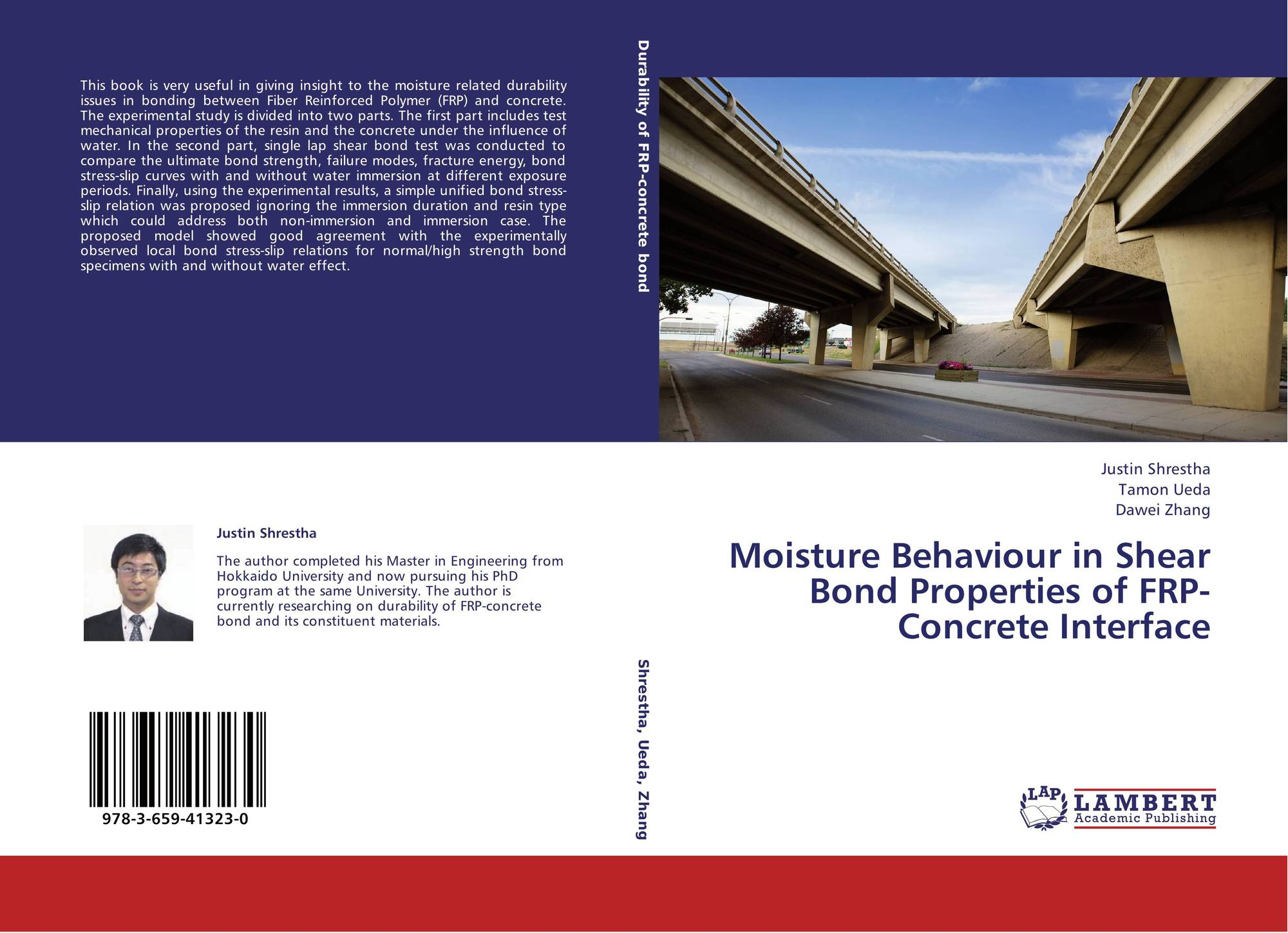 Moisture Behaviour in Shear Bond Properties of FRP-Concrete