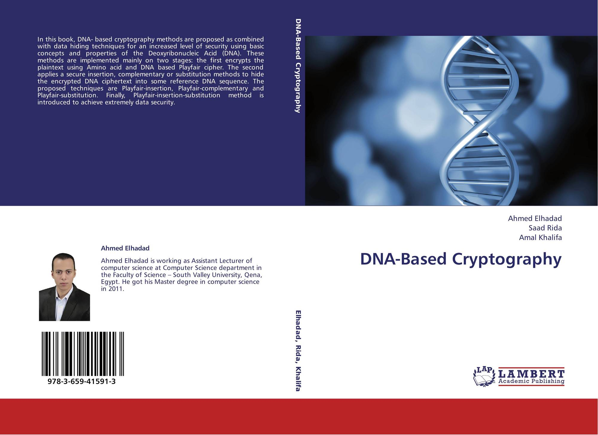 dna based cryptography Dna-based cryptography ⁄ ashish gehani, thomas labean, and john reif department of computer science, duke university y abstract recent research has considered dna.