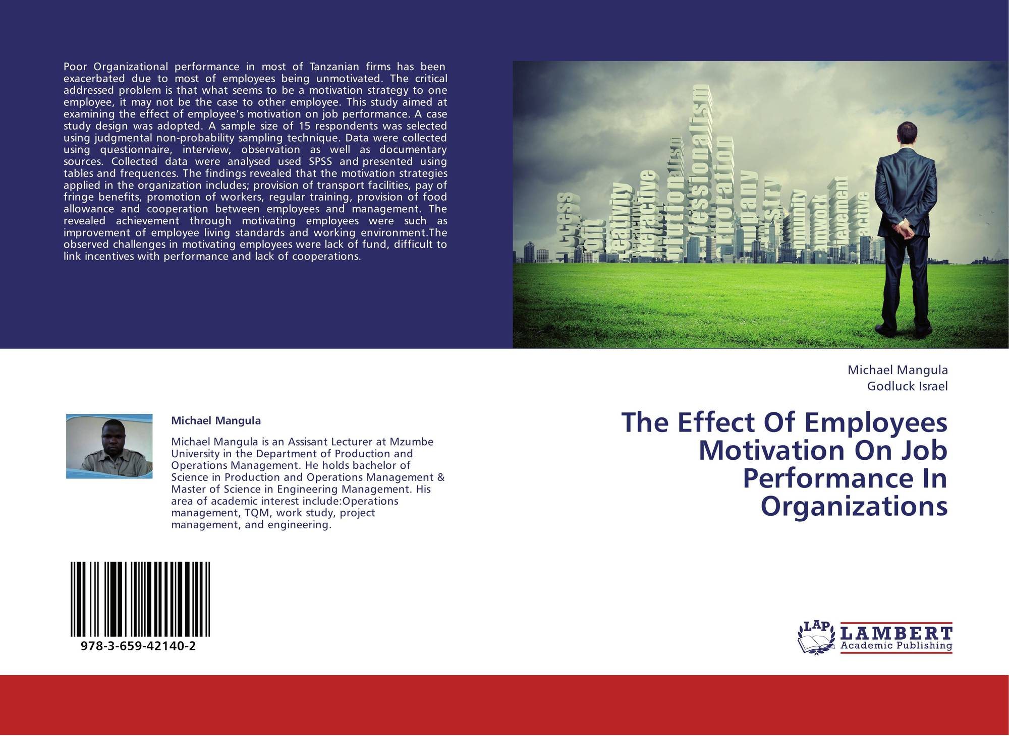 effects of motivation on employees job performance in an organization