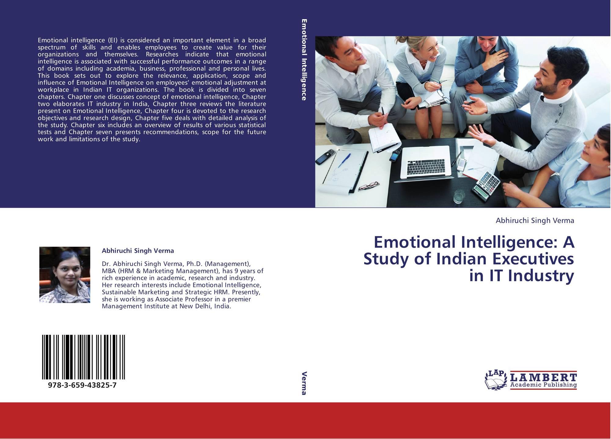 emotional intelligence study Emotional intelligence and leadership effectiveness: this study examines the effects of emotional intelligence emotional intelligence—getting along.