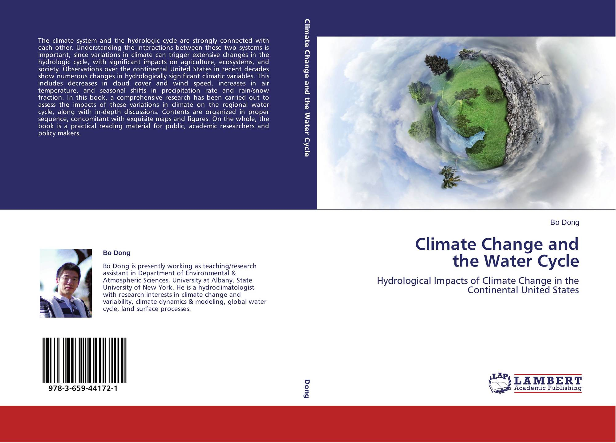 climate variables and the change in