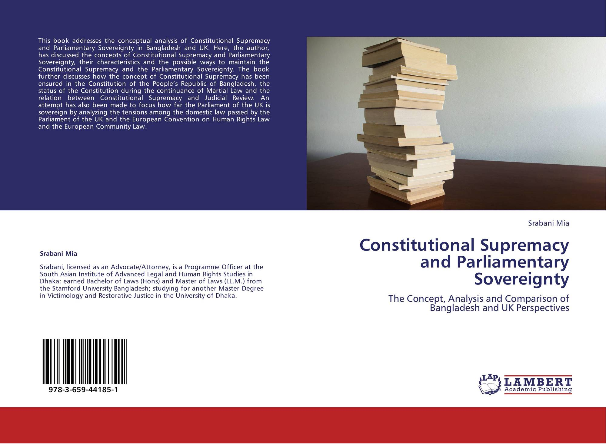 parliamentary supremacy and the uks constitution Cheryl saunders & anna dziedzic constitution following the precedents set by the united states and sovereignty from the supremacy of parliament under a written.