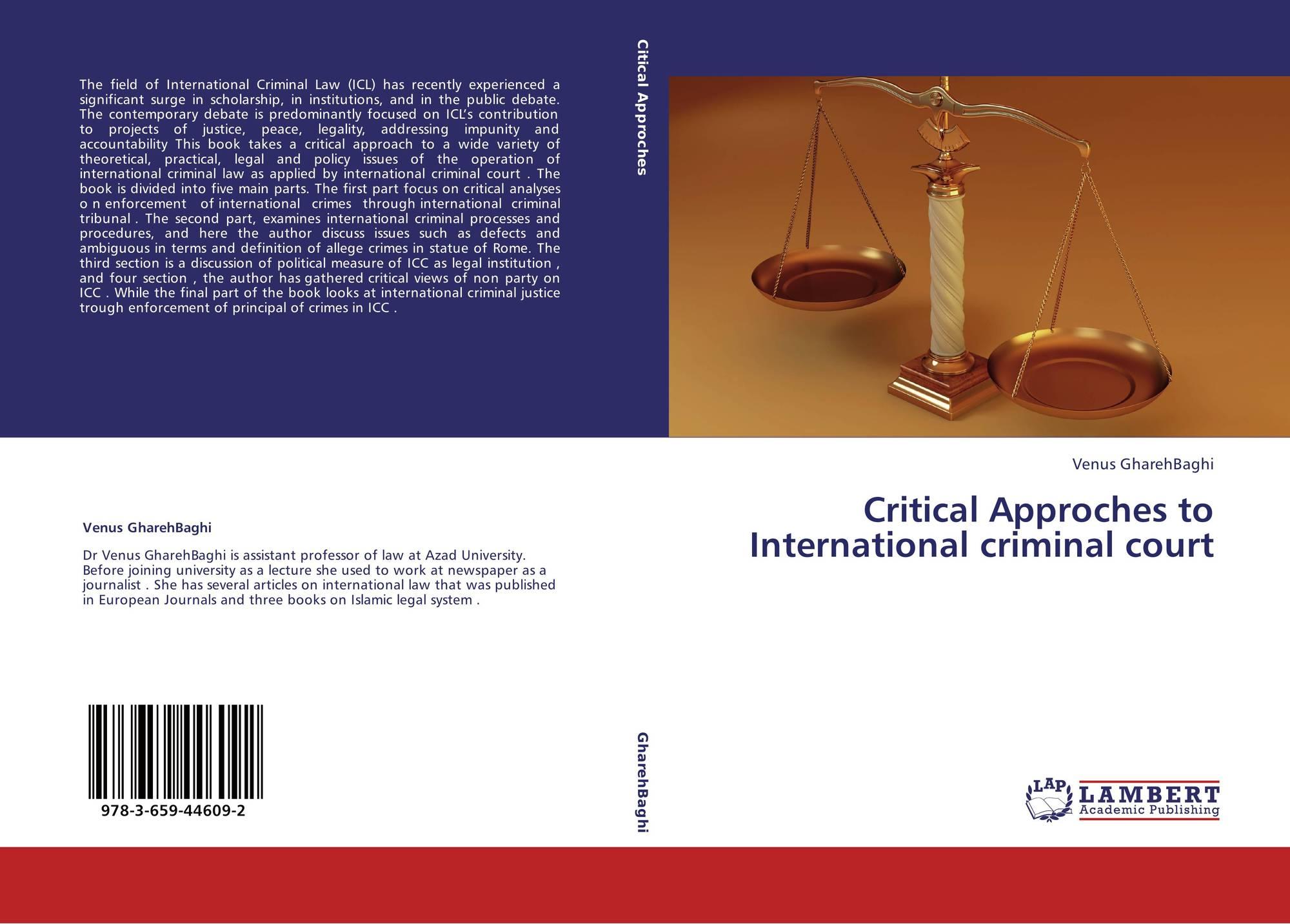 theoretical principle of criminal law