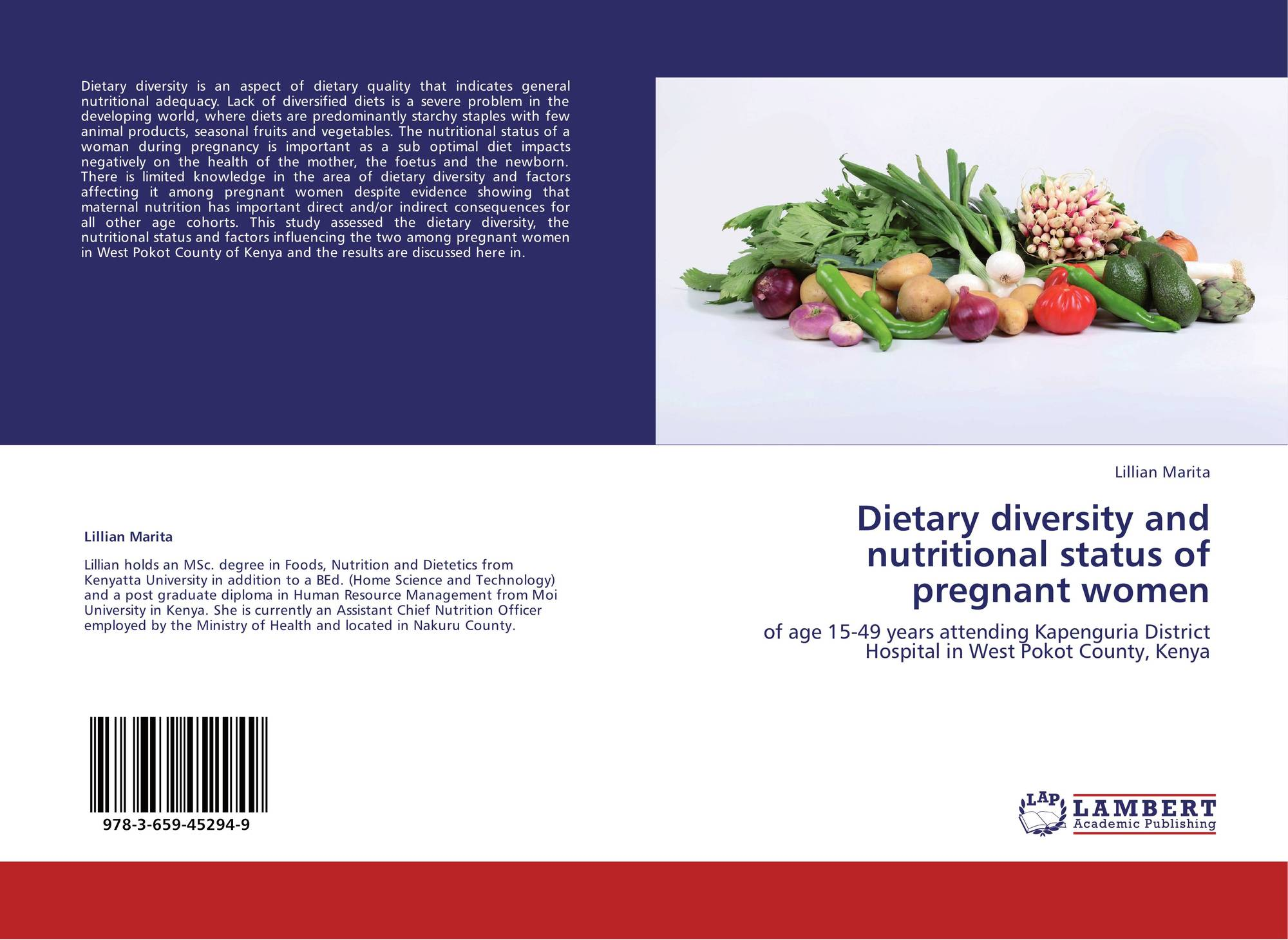 thesis on nutritional status Dietary diversity and nutritional status of pregnant women aged 15-49 years attending kapenguria district hospital west pokot county, kenya by marita lillian kemunto (bed-hsc & tech) reg no h60/20308/2010 department of foods, nutrition and dietetics a thesis submitted in partial fulfillment of the requirements for the award of the degree of.