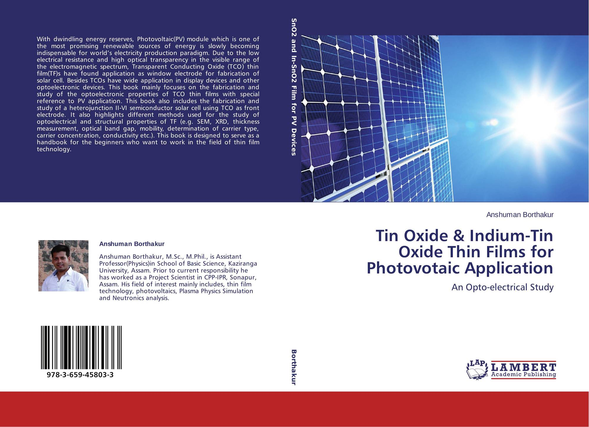 Search results for hydrogen dopped indium oxide bookcover of tin oxide indium tin oxide thin films for photovotaic application biocorpaavc Images