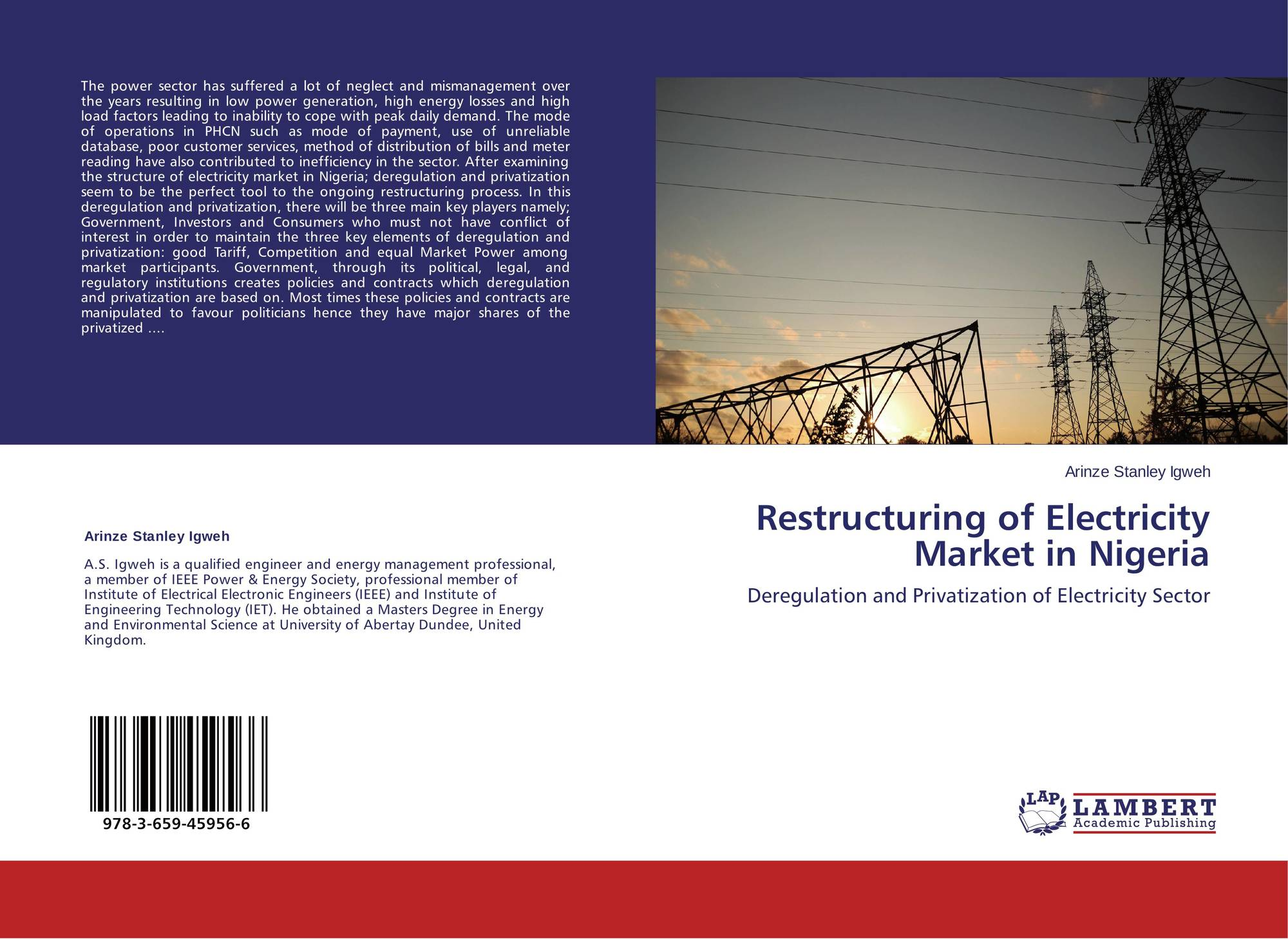 an analysis of electric power industry deregulation Markets for power is a remarkably comprehensive analysis of the prospects for deregulating the electric generation industry the book should disabuse anyone of the notion that setting up a market for wholesale electricity is an easy task in its scope and wisdom, it has no competitors a 'must.