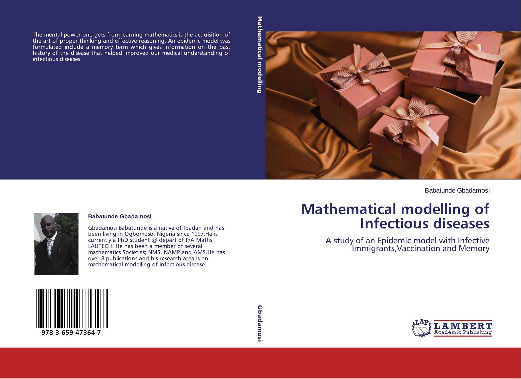 Mathematical modelling of Infectious diseases, 978-3-659