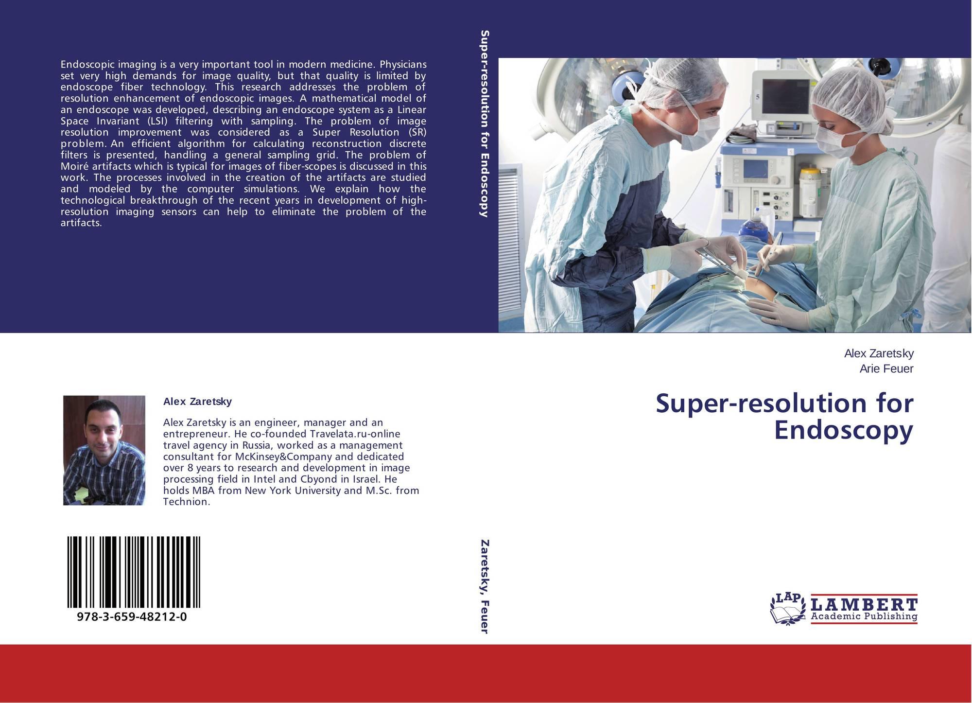 Super-resolution for Endoscopy, 978-3-659-48212-0