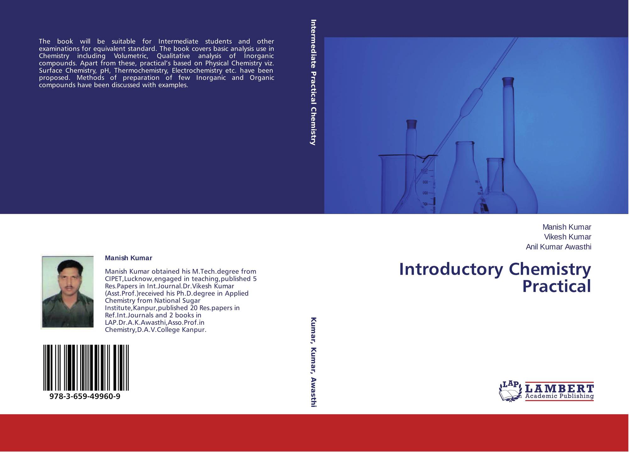 Introductory Chemistry Practical, 978-3-659-49960-9
