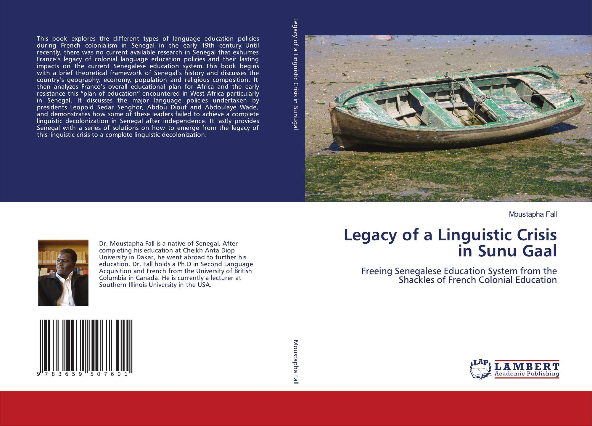 Category/education - Bookcover Of Legacy Of A Linguistic Crisis In Sunu Gaal