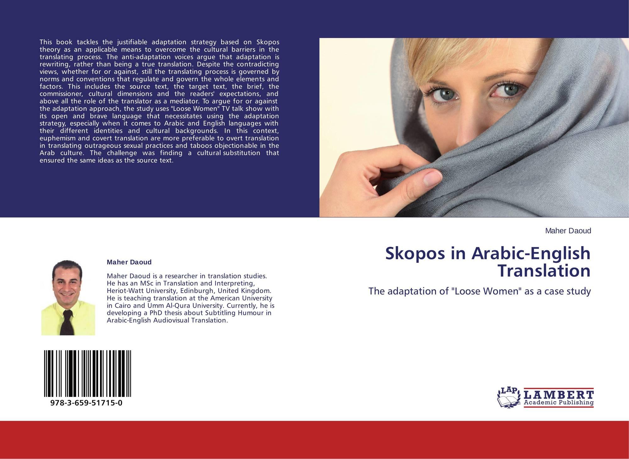 Skopos in Arabic-English Translation, 978-3-659-51715-0 ...