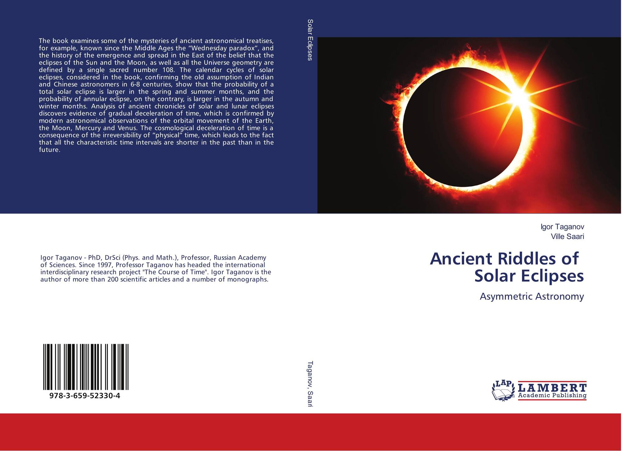 Ancient Riddles of Solar Eclipses, 978-3-659-52330-4, 3659523305