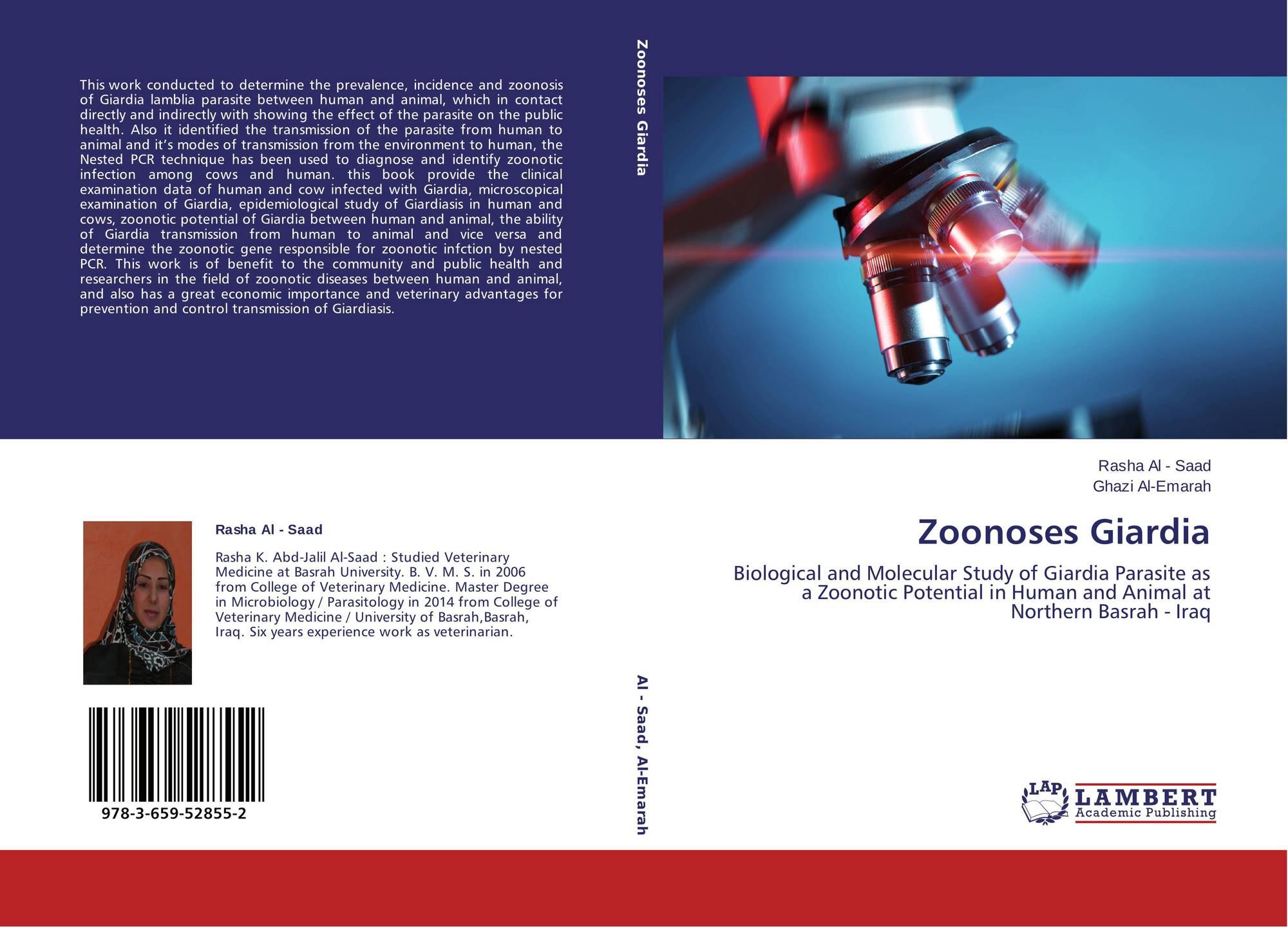giardia zoonotic potential