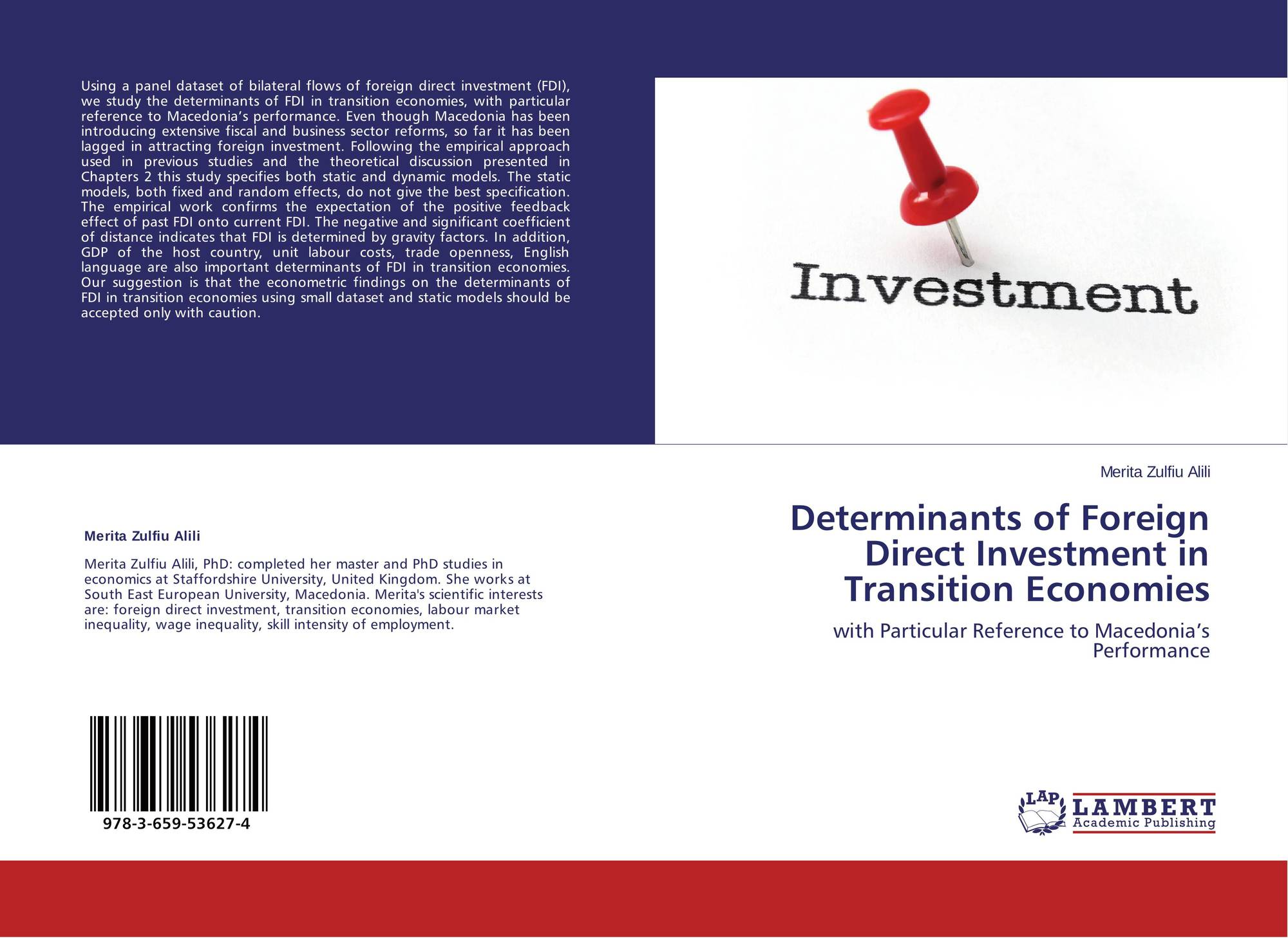 the determinants of portfolio investment in Abstract this work investigates the effects of equity returns, exchange rates, interest rates and a country risk measure on foreign portfolio investment flows to the.