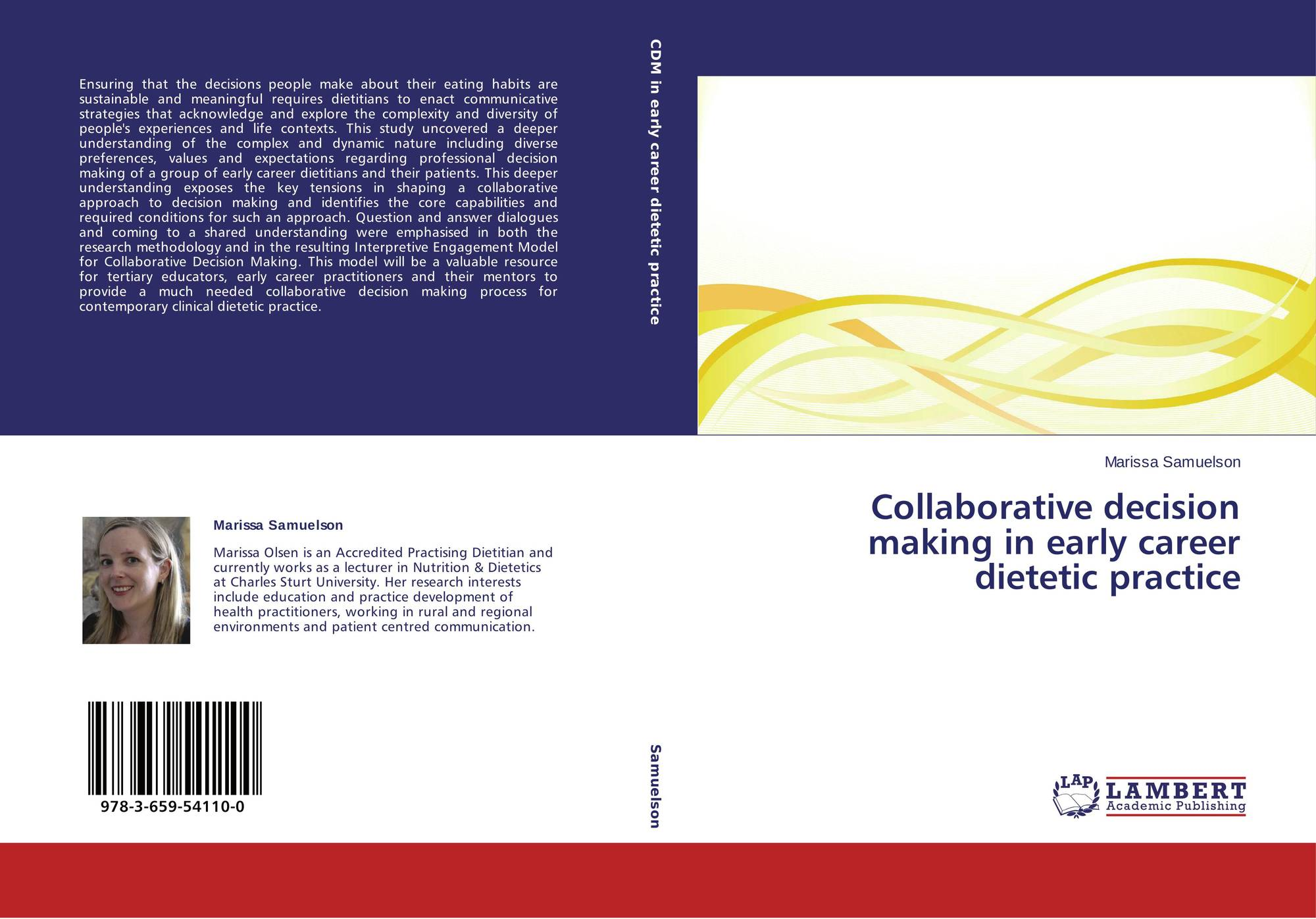 Collaborative Teaching Degree : Collaborative decision making in early career dietetic