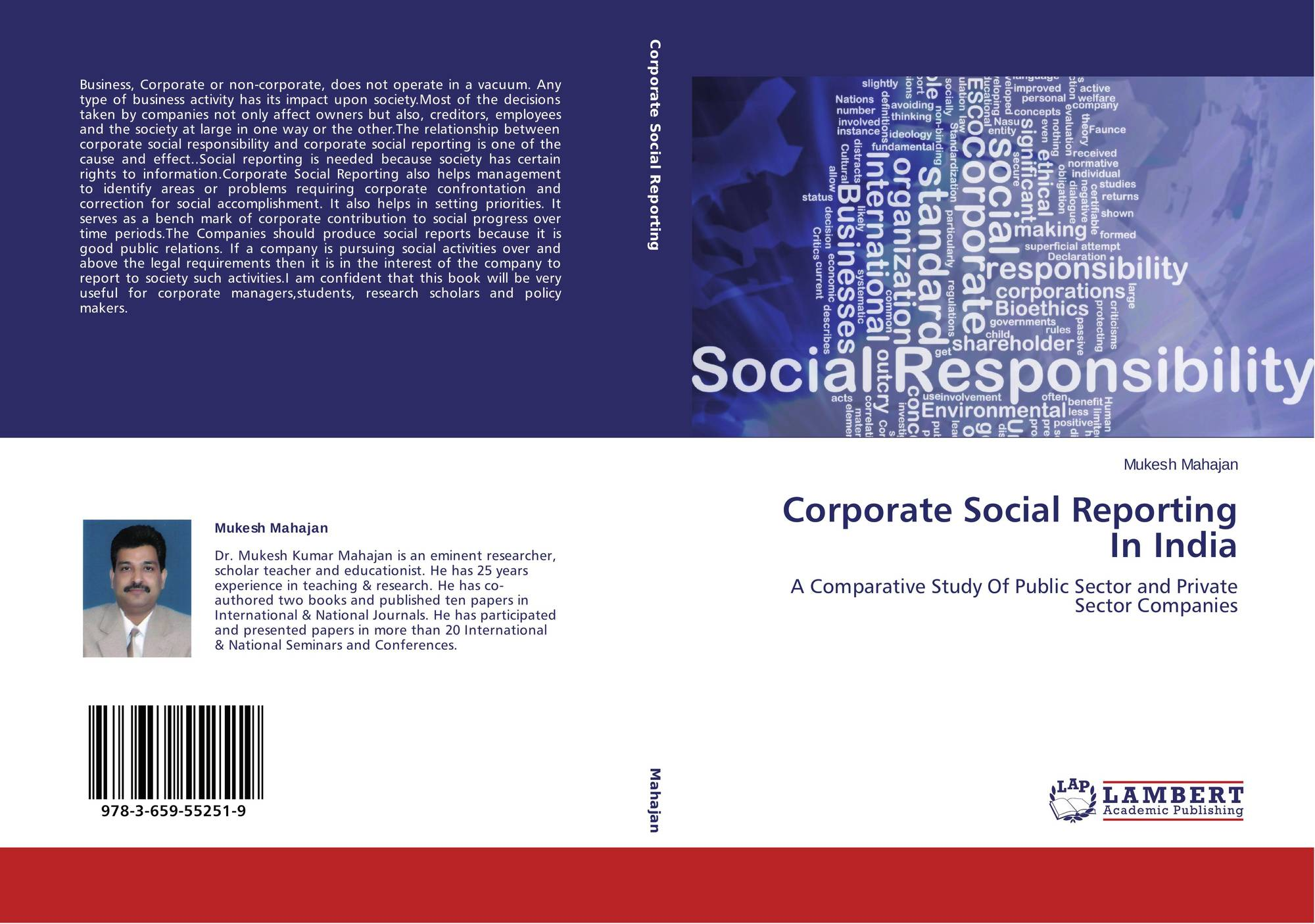 case study on corporate social responsibility of mncs in india The business case for corporate social responsibility:a review of concepts, research and practice ijmr_275 85106 archie b carroll and kareem m shabana1 director, nonprofit management & community service program & robert w scherer professor emeritus.