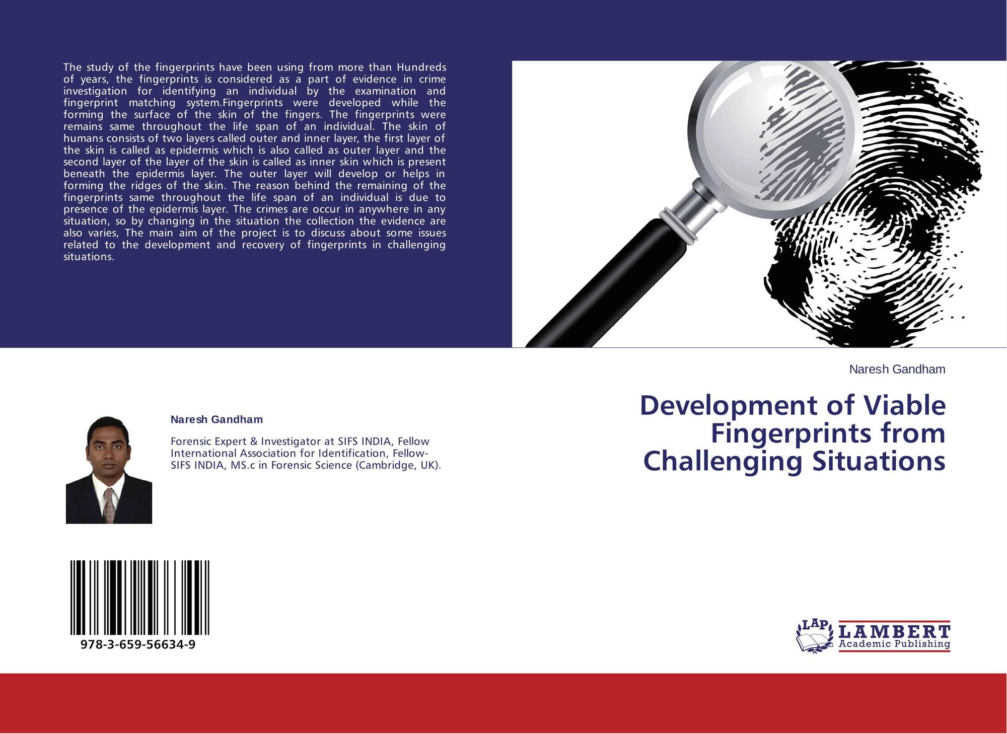 search results for fingerprints bookcover of development of viable fingerprints from challenging situations